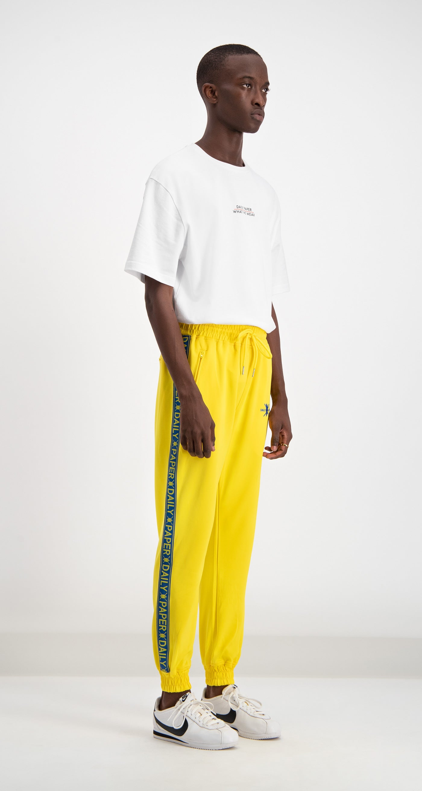 Yellow/Blue Track Pants