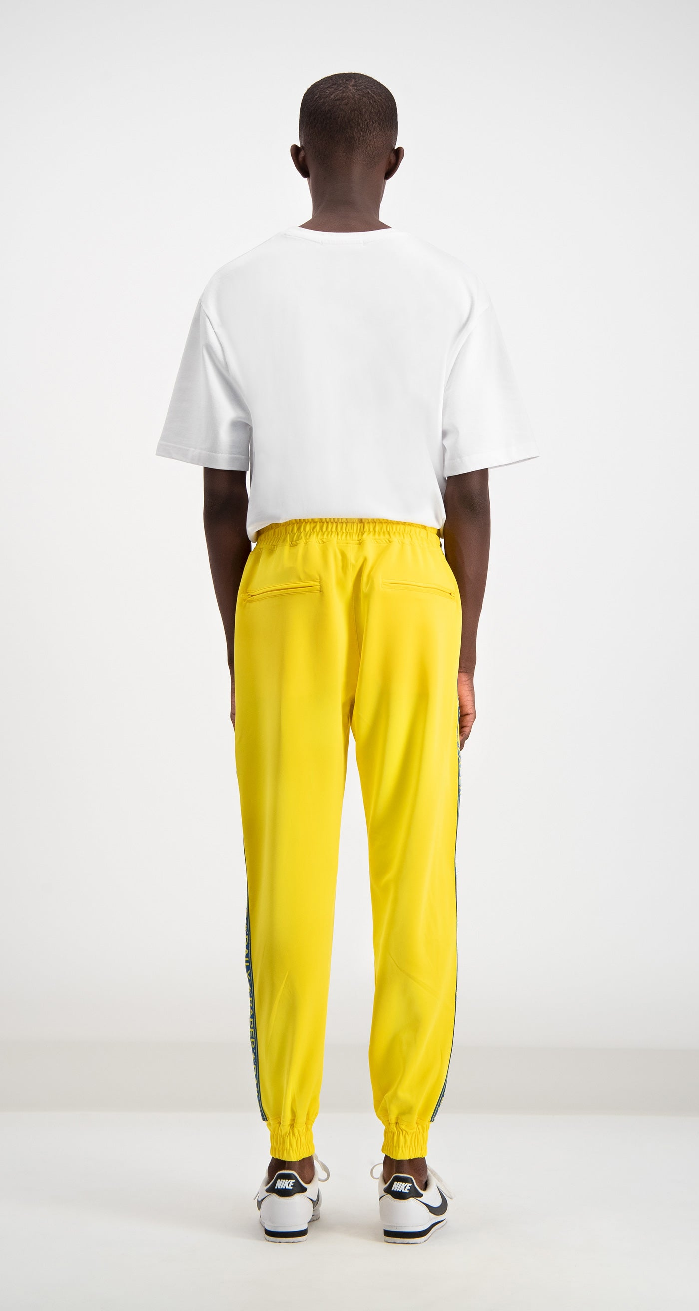 Daily Paper - Yellow/Blue Track Pants Men