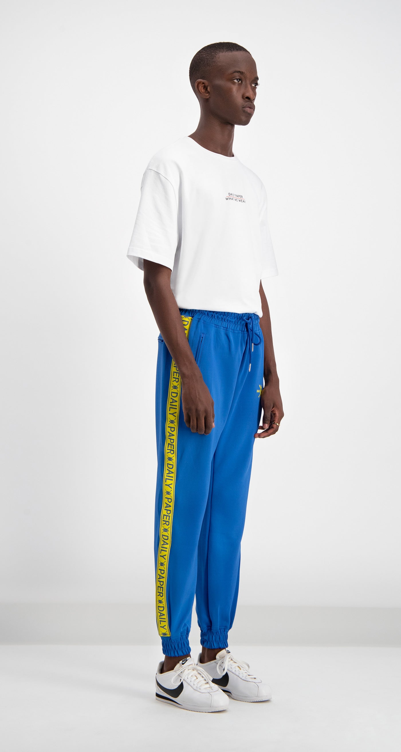 Daily Paper - Blue/Yellow Track Pants