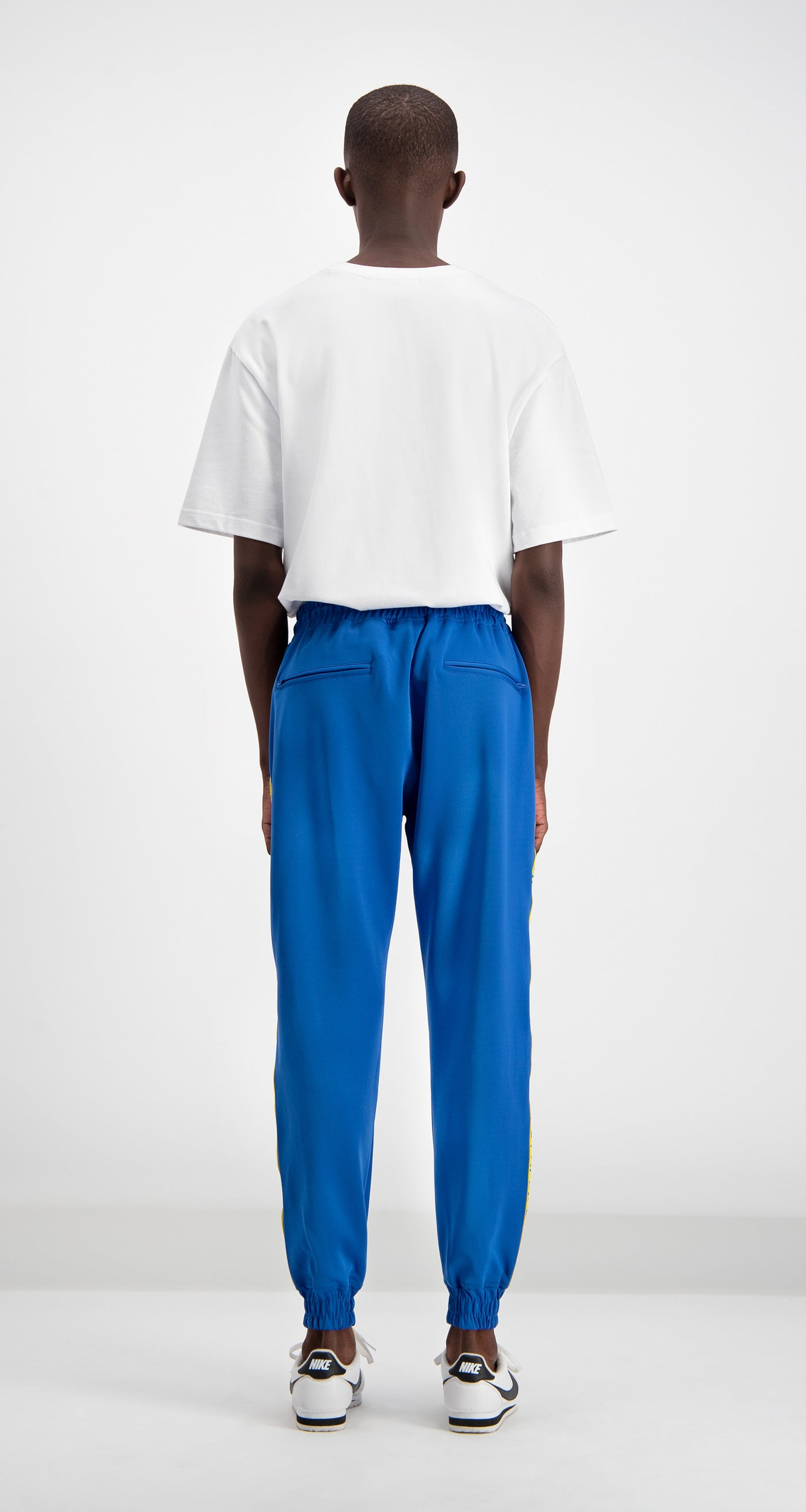 Daily Paper - Blue/Yellow Track Pants Rear
