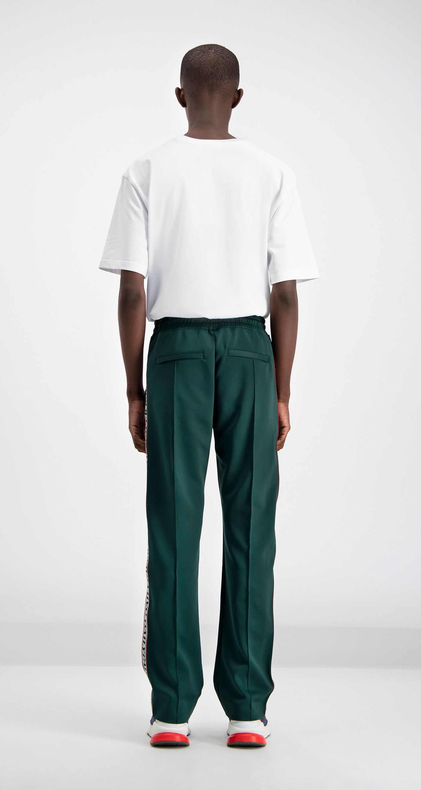 Daily Paper - Green Liba Track Pants Men Rear