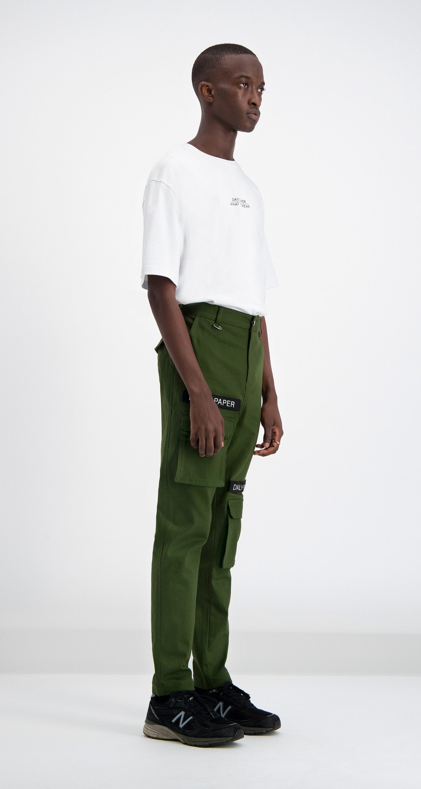 Daily Paper - Cargo Pants Olive Green Men