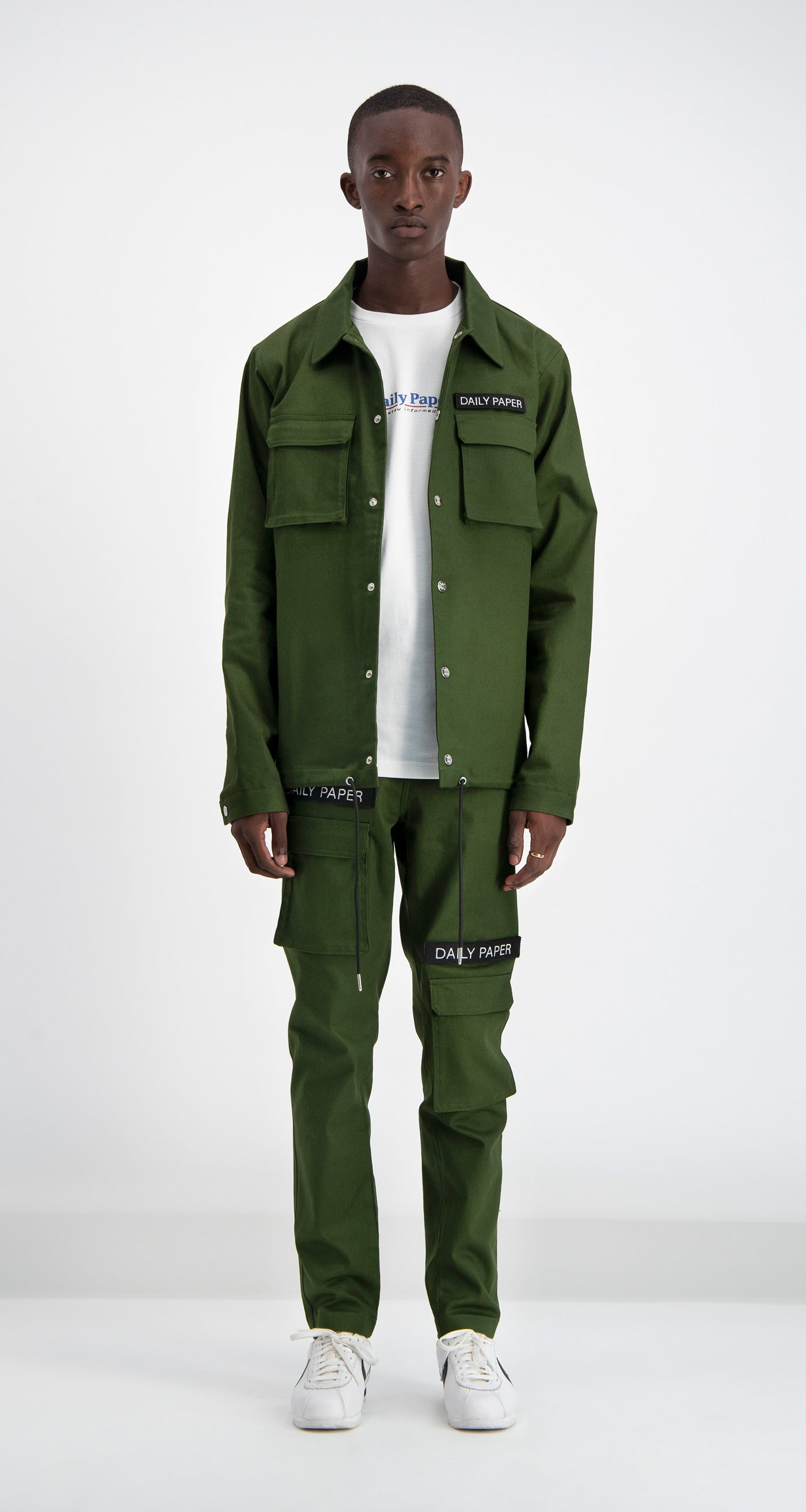 Cargo Coach Jacket Green