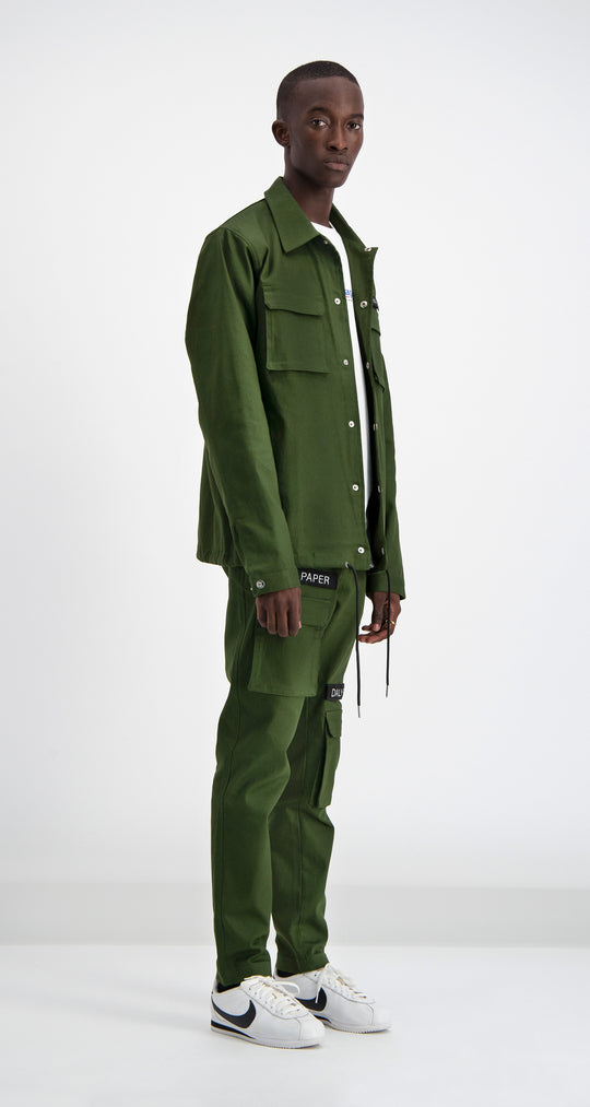 Daily Paper - Cargo Coach Jacket Green