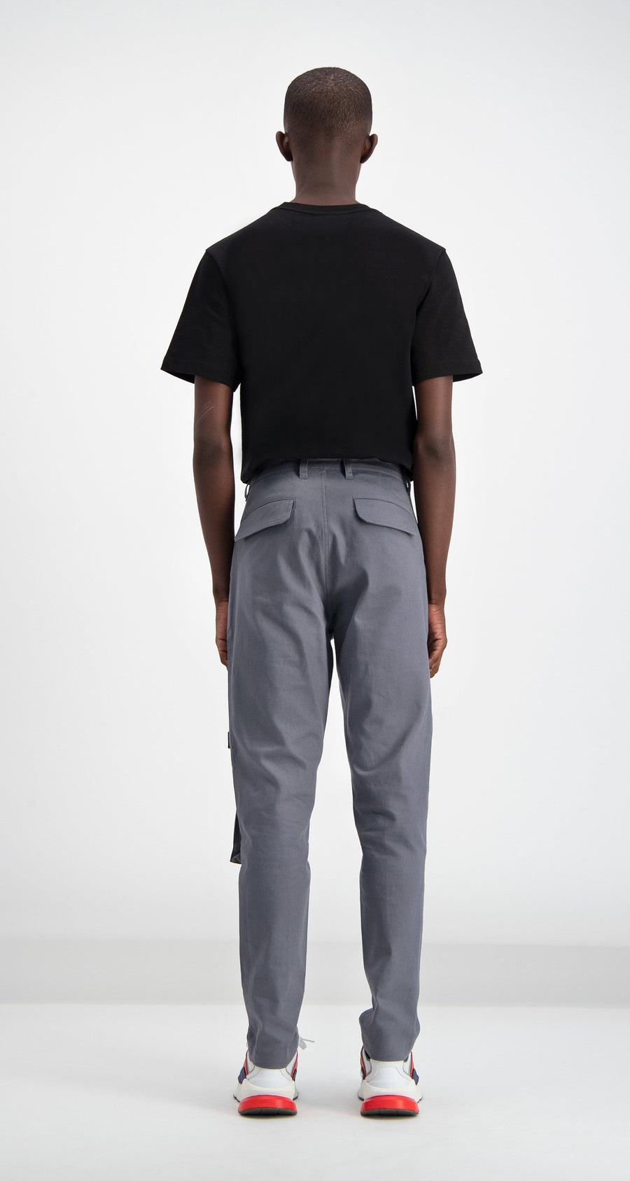 Daily Paper - Cargo Pants Grey Men Rear