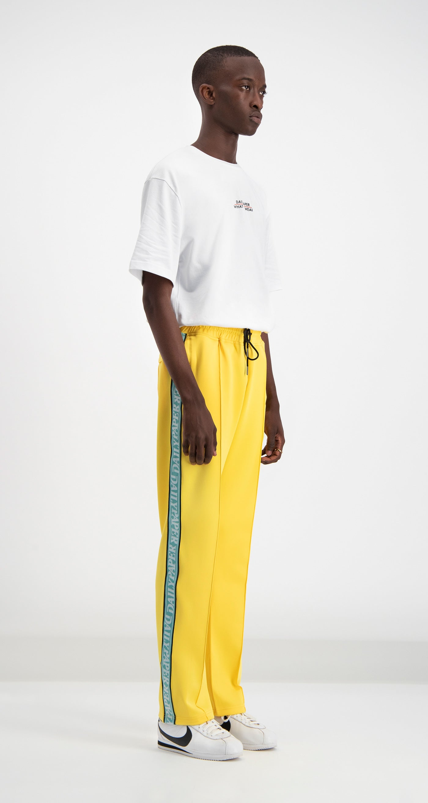 Daily Paper - Yellow Liba Track Pants Men Front