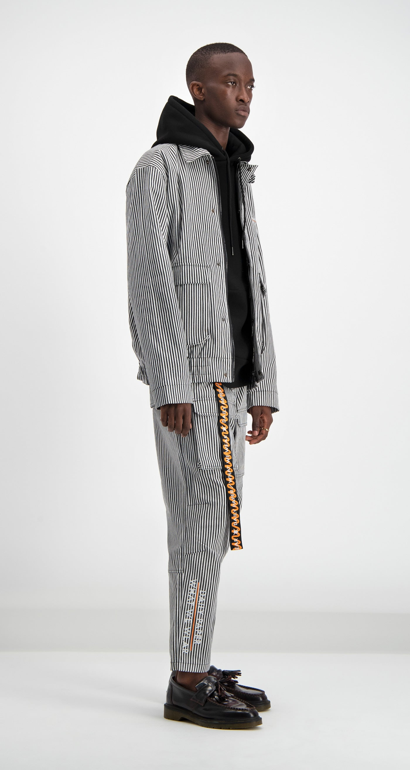 Daily Paper - Sand Pinstripe Dami Jacket Men