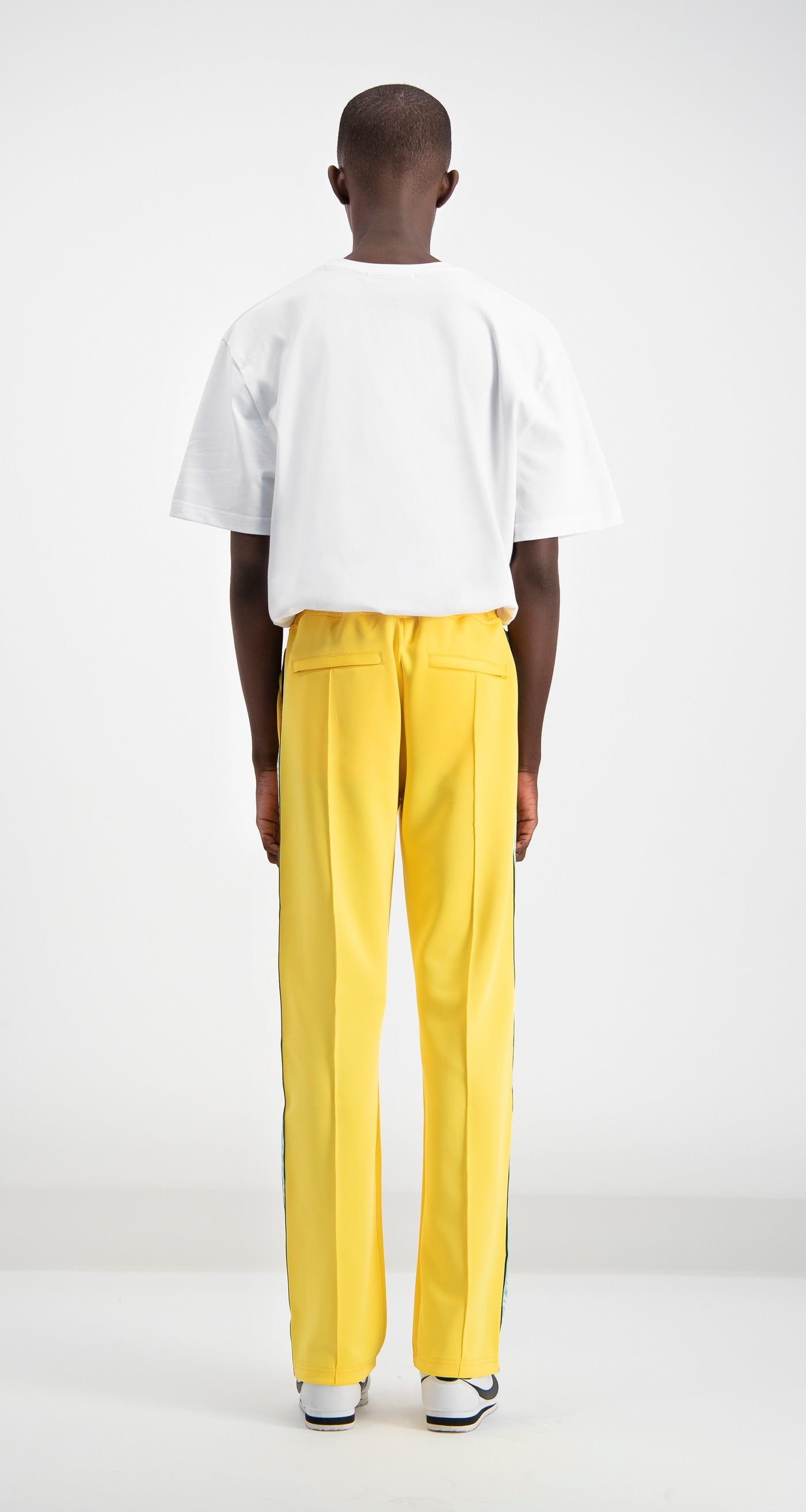 Daily Paper - Yellow Liba Track Pants Men Rear