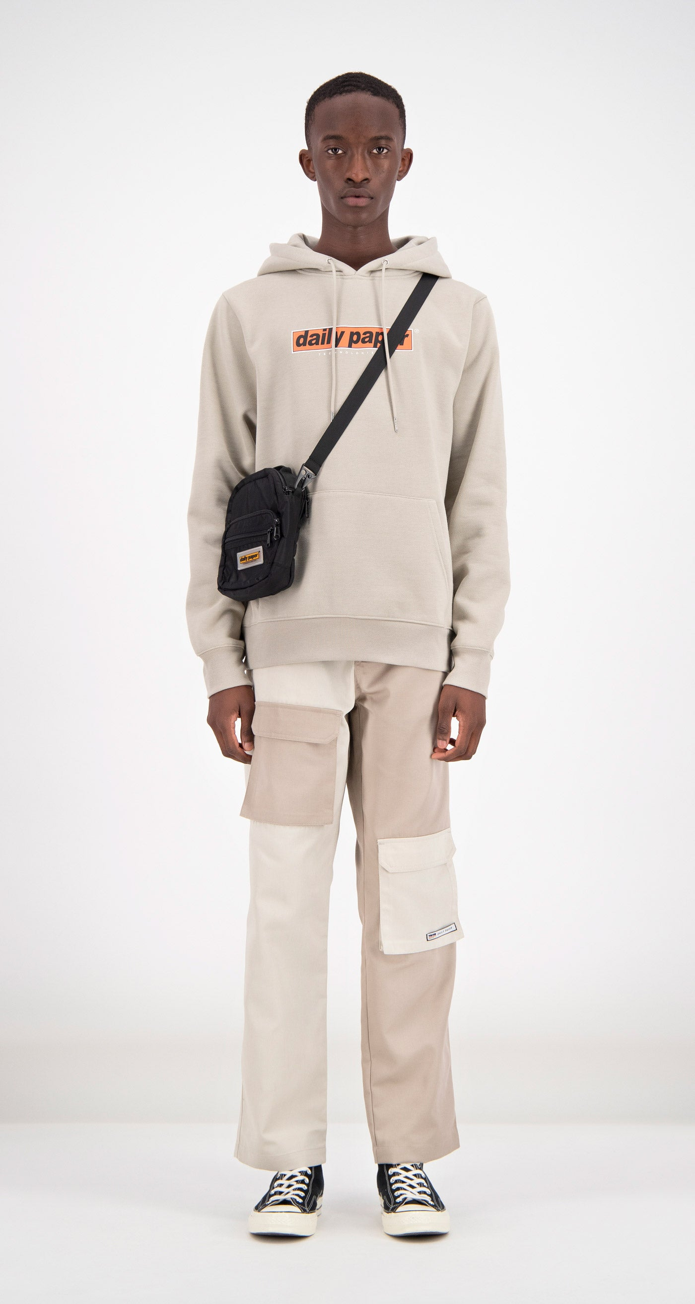 Daily Paper - Sand Fedde Hoodie Men Front