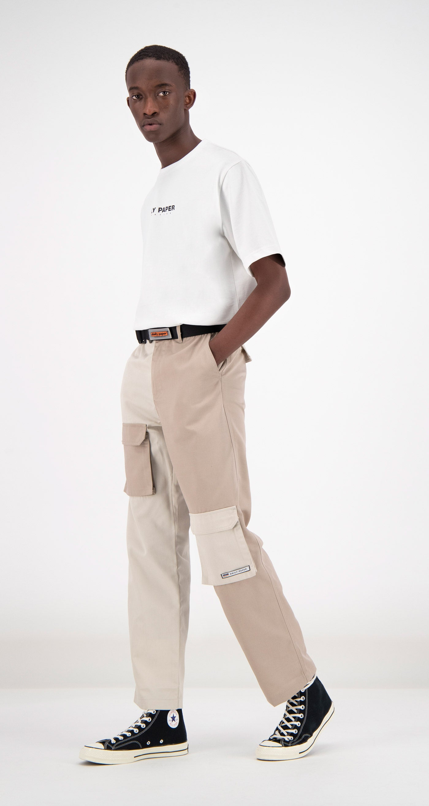 Daily Paper - Two-Tone Fanis Cargo Pants Men