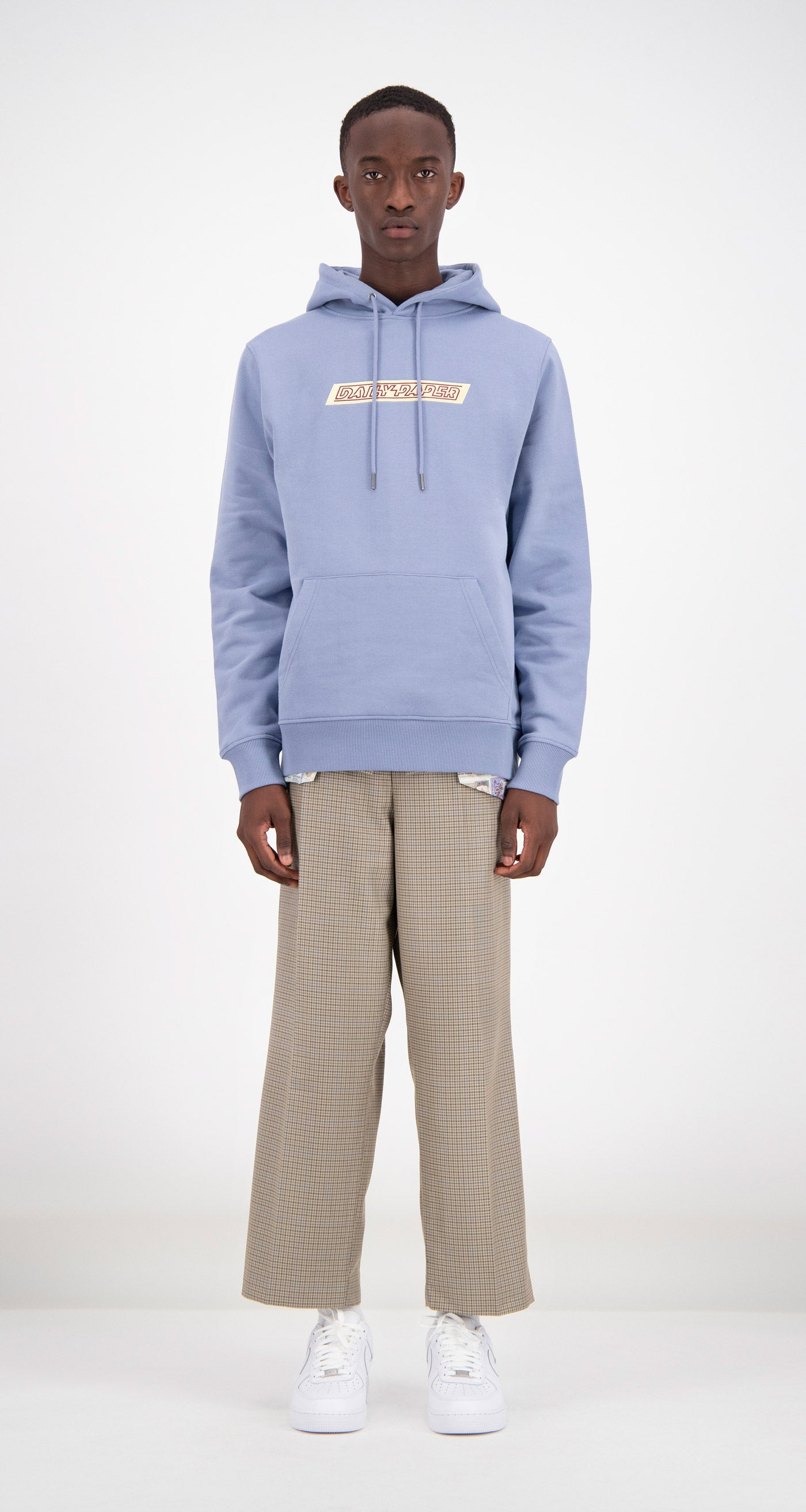 Daily Paper - Light Blue Copatch Hoodie Men