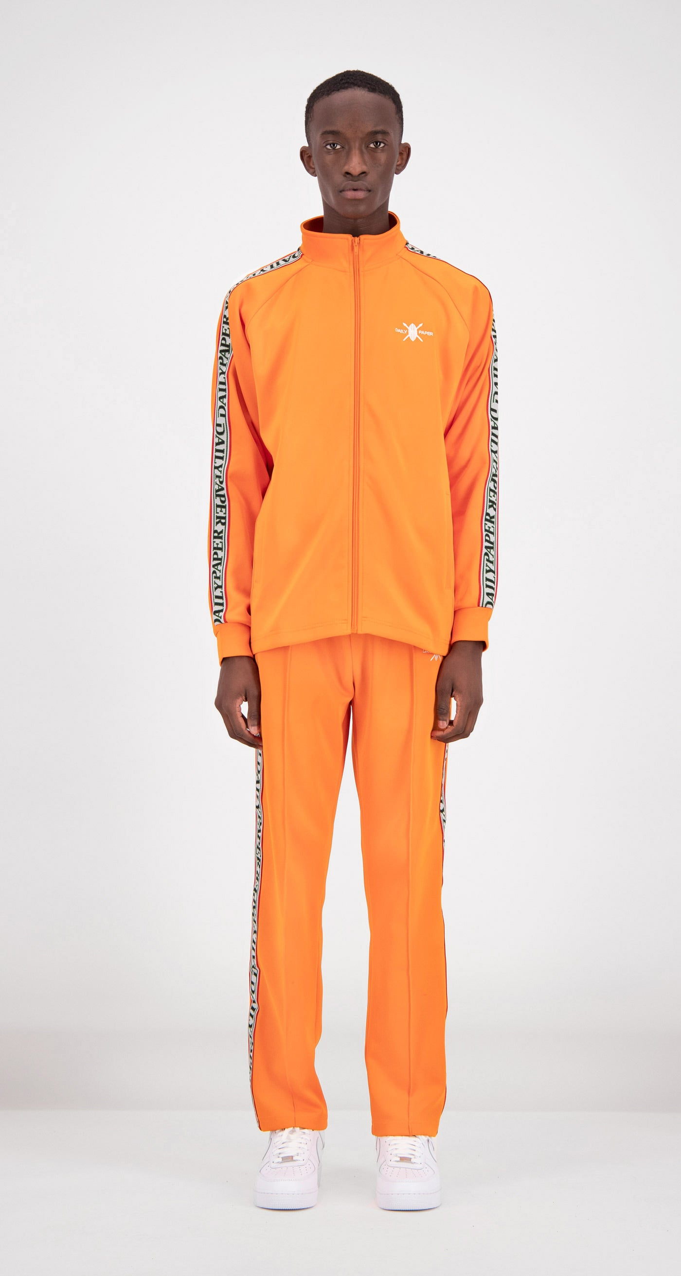 Daily Paper - Orange Tapevest Track Top Men