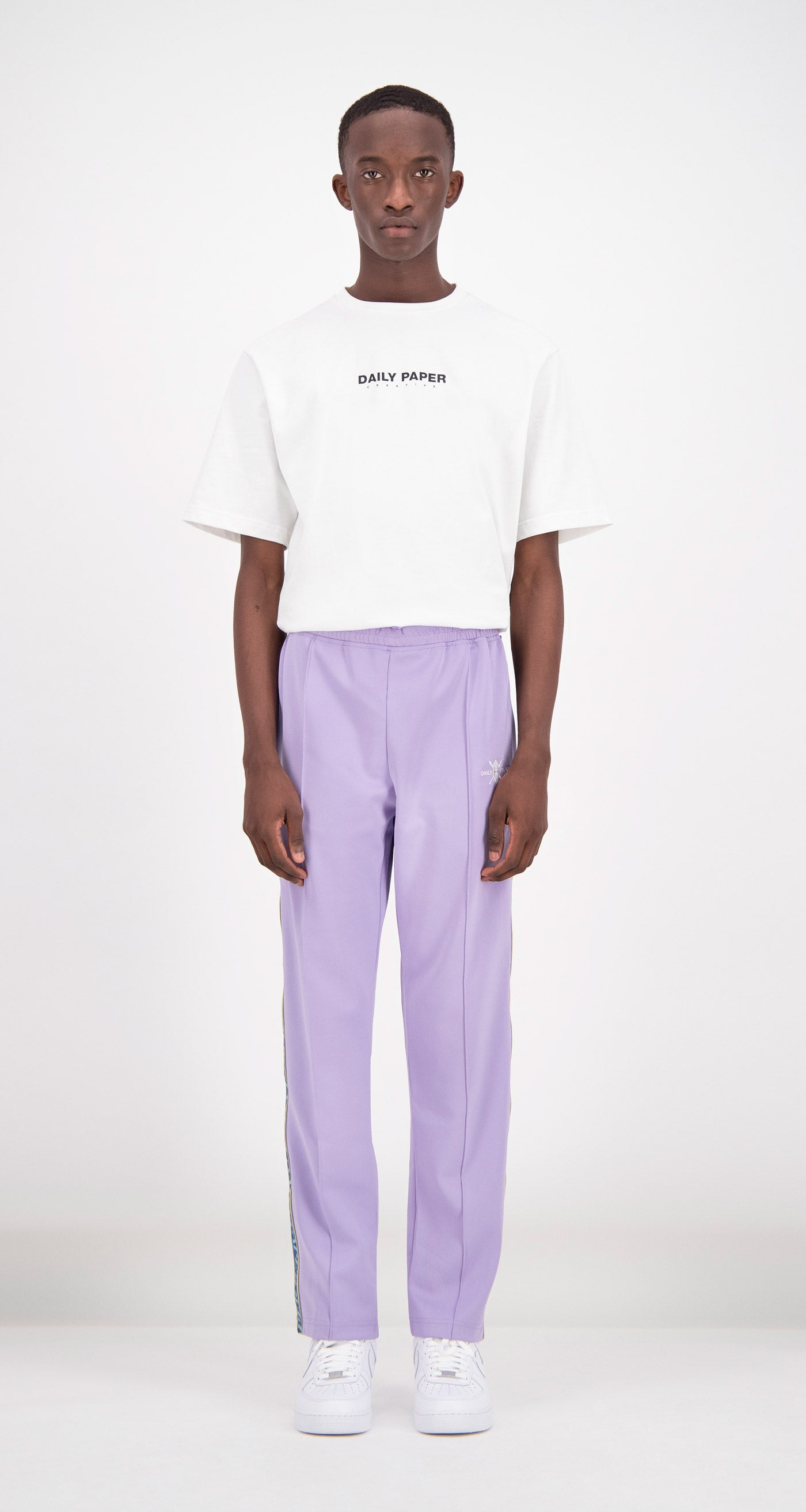 Daily Paper - Lilac Liba Track Pants Men