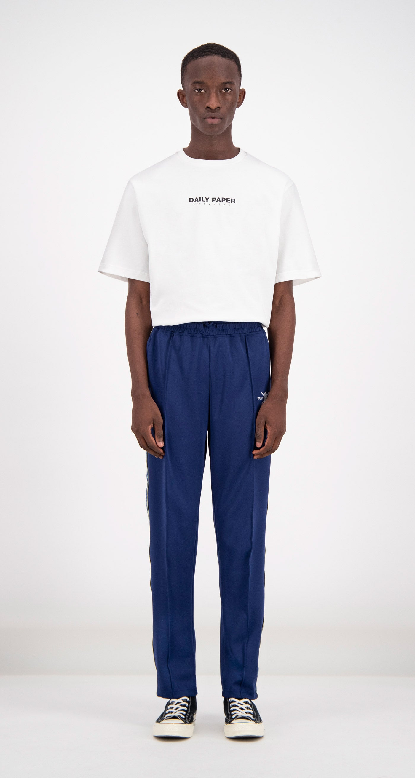 Daily Paper - Blue Liba Track Pants Men Front