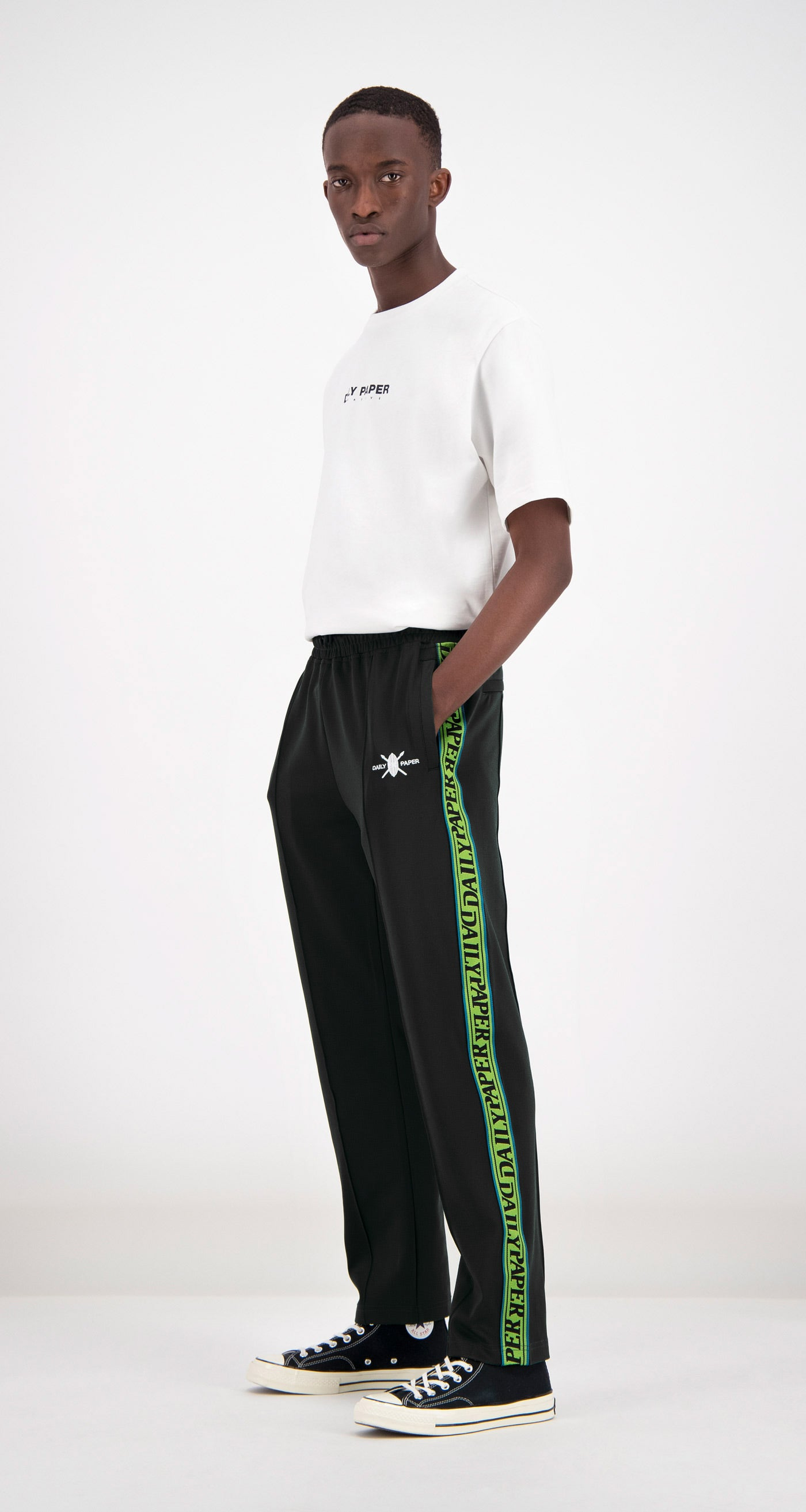 Daily Paper - Black Liba Track Pants Men