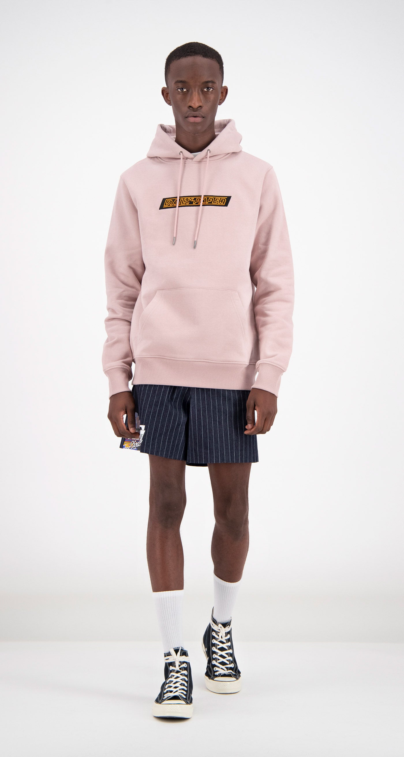Daily Paper - Dusty Pink Copatch Hoodie Men