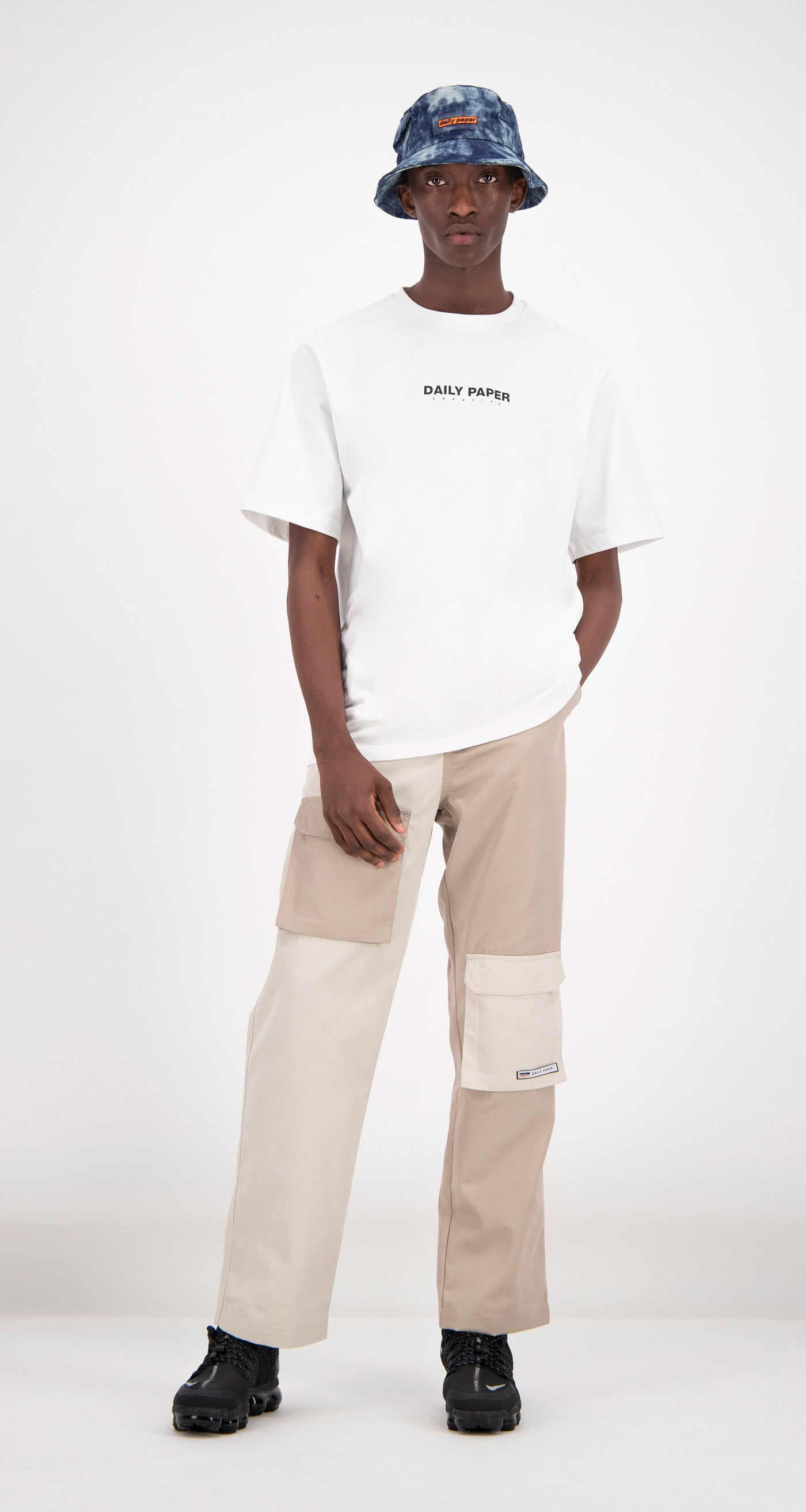 Daily Paper - White Farid T-shirt Men