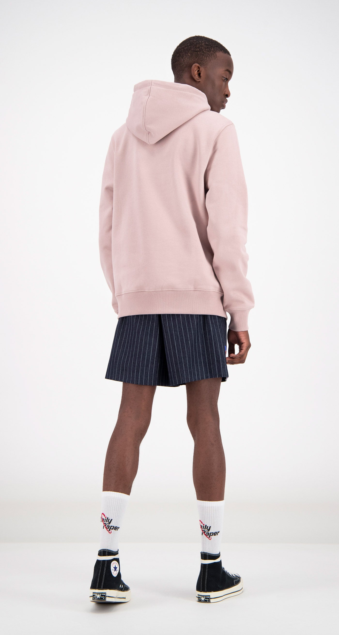 Daily Paper - Dusty Pink Copatch Hoodie Men Rear