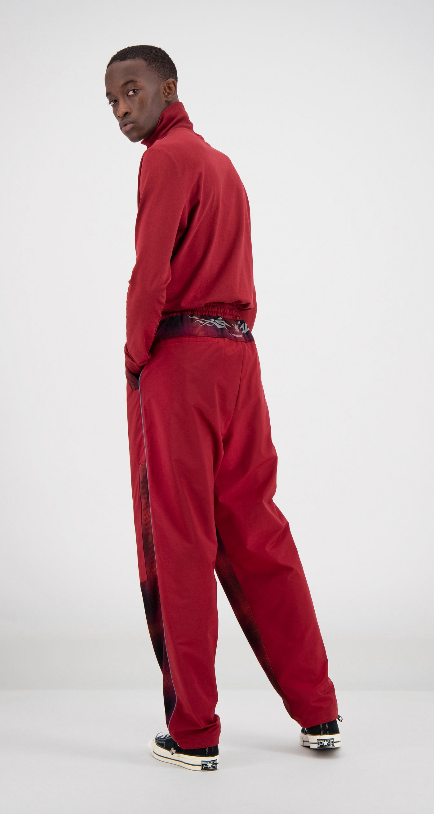 Daily Paper - Red Falcon Pants Men Rear
