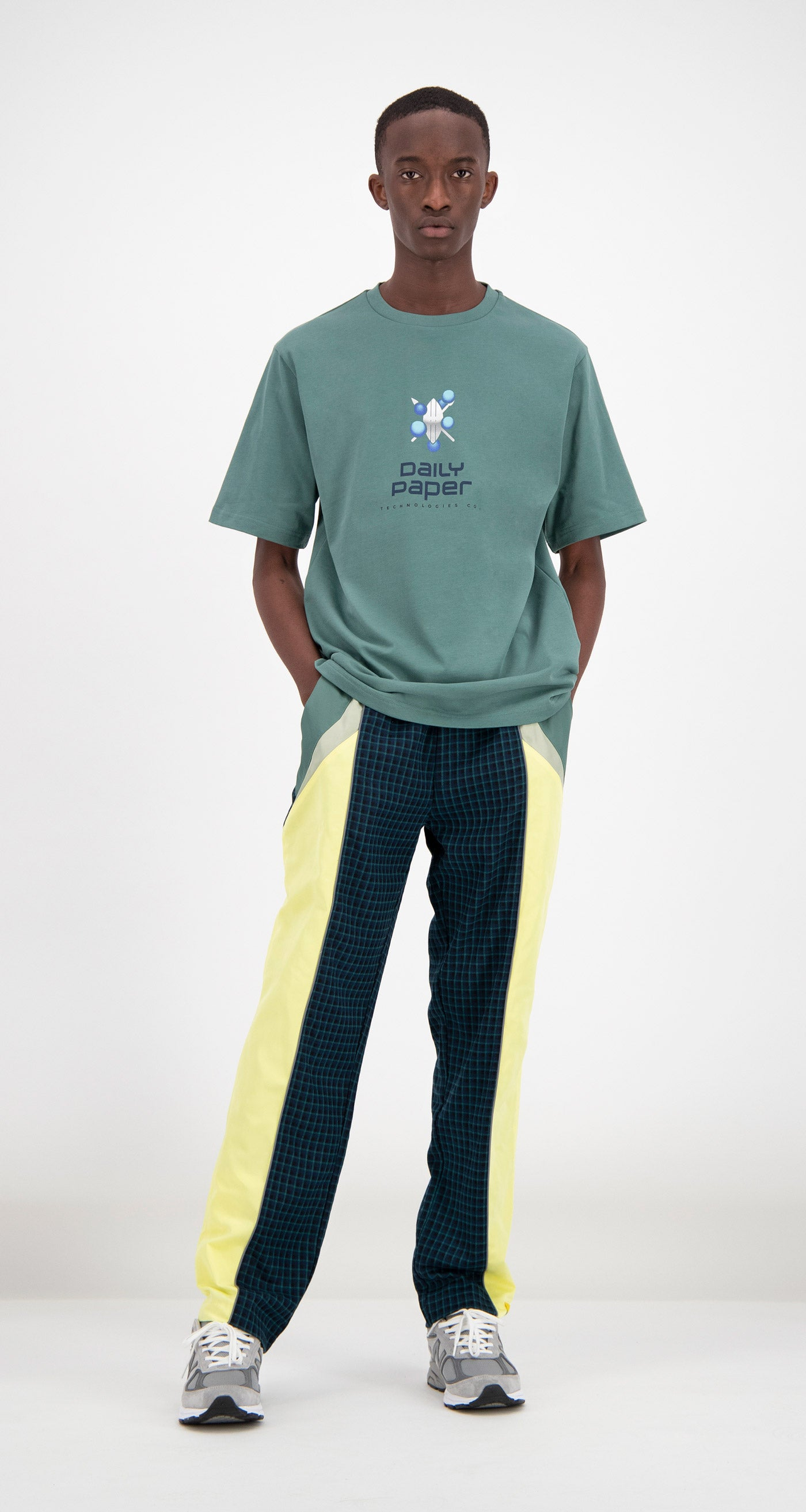 Daily Paper - Aloe Green Faatir T-shirt Men