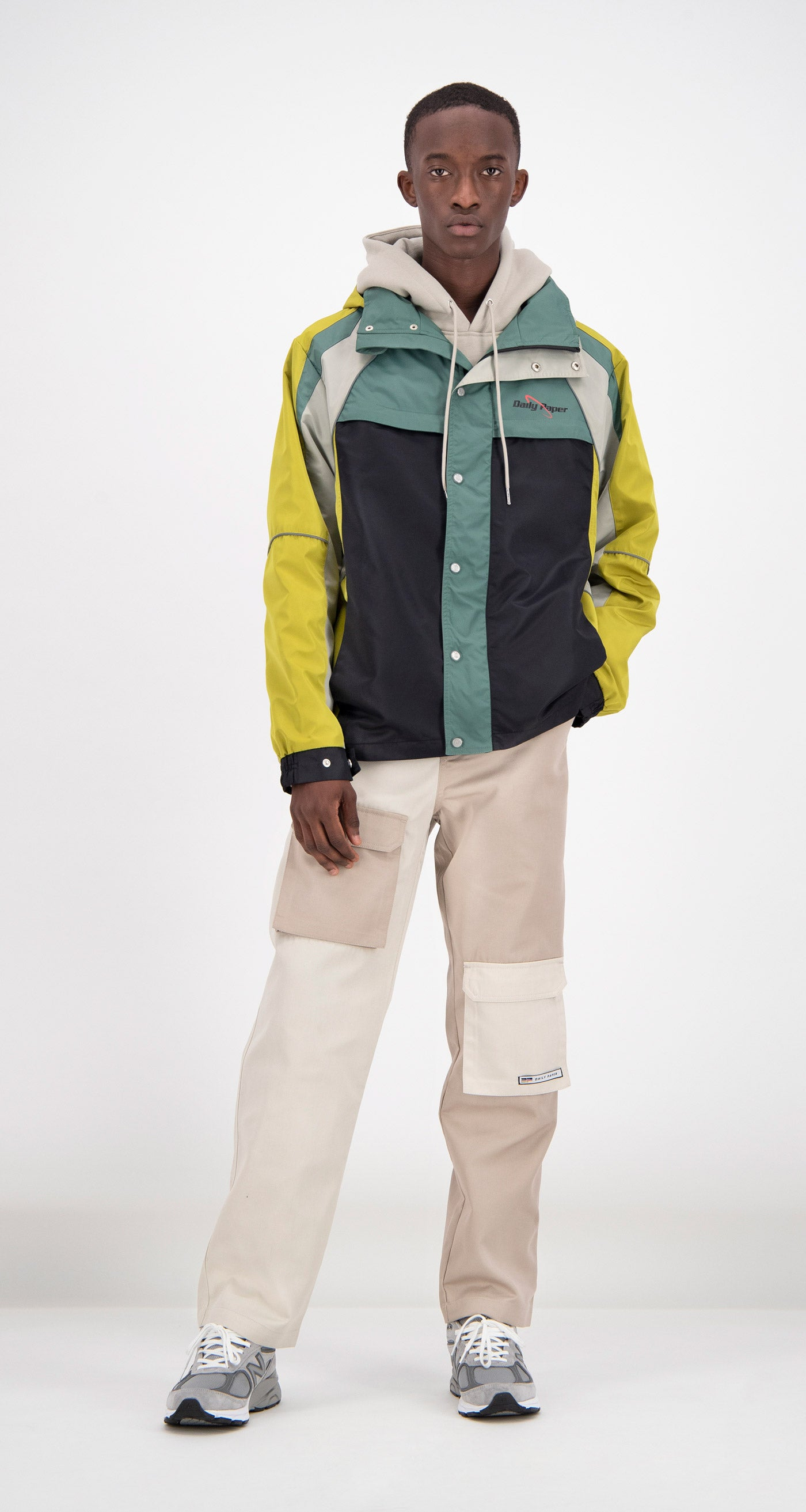 Daily Paper - Green Foat Lightweight Jacket Men