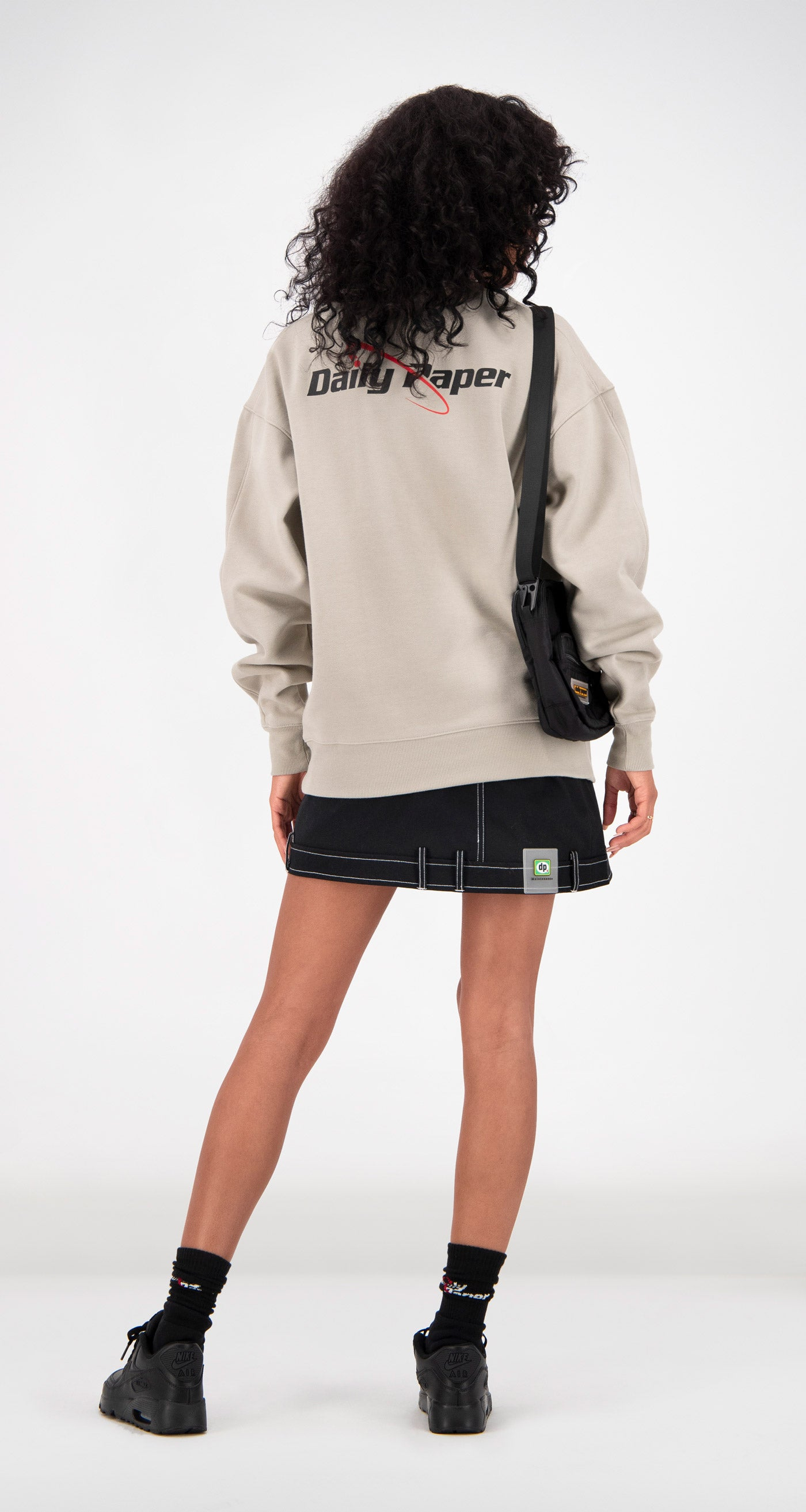 Daily Paper - Sand Fargo Sweater Women Rear