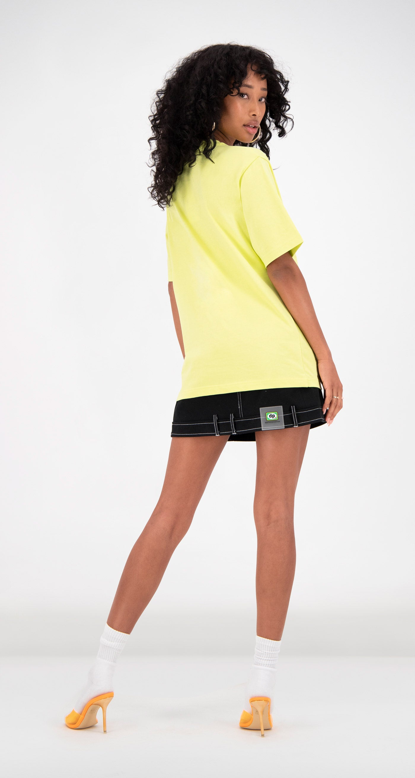 Daily Paper - Yellow Fabunni T-Shirt Women Rear