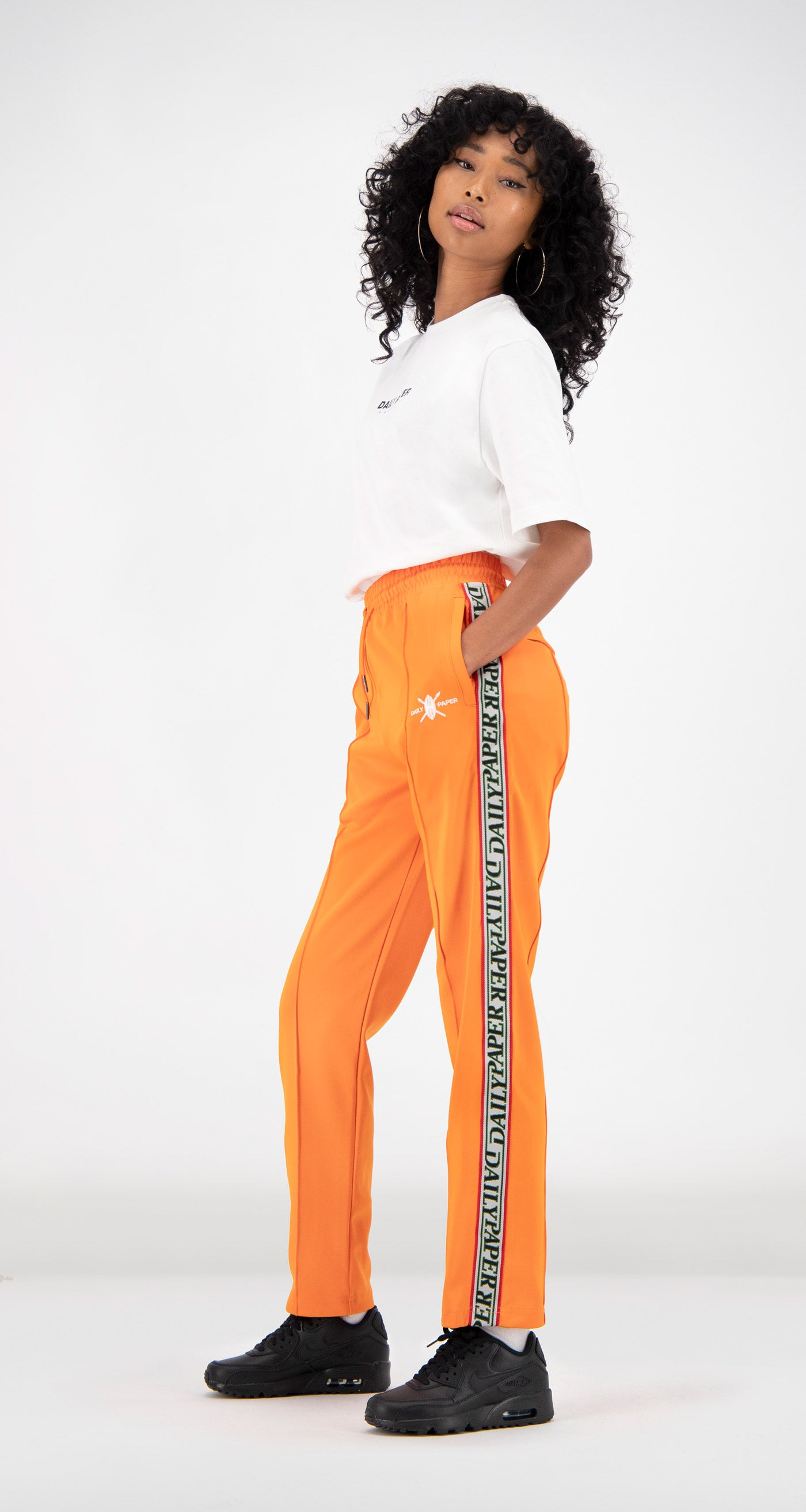 Daily Paper - Orange Liba Track Pants Women