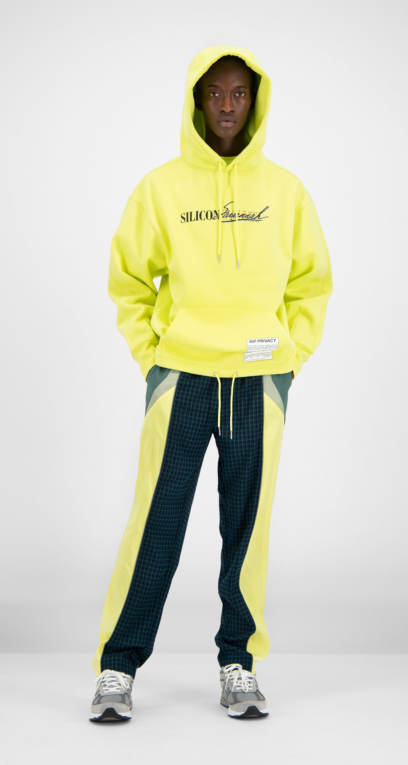 Daily Paper - Yellow Fadraw Hoody Men