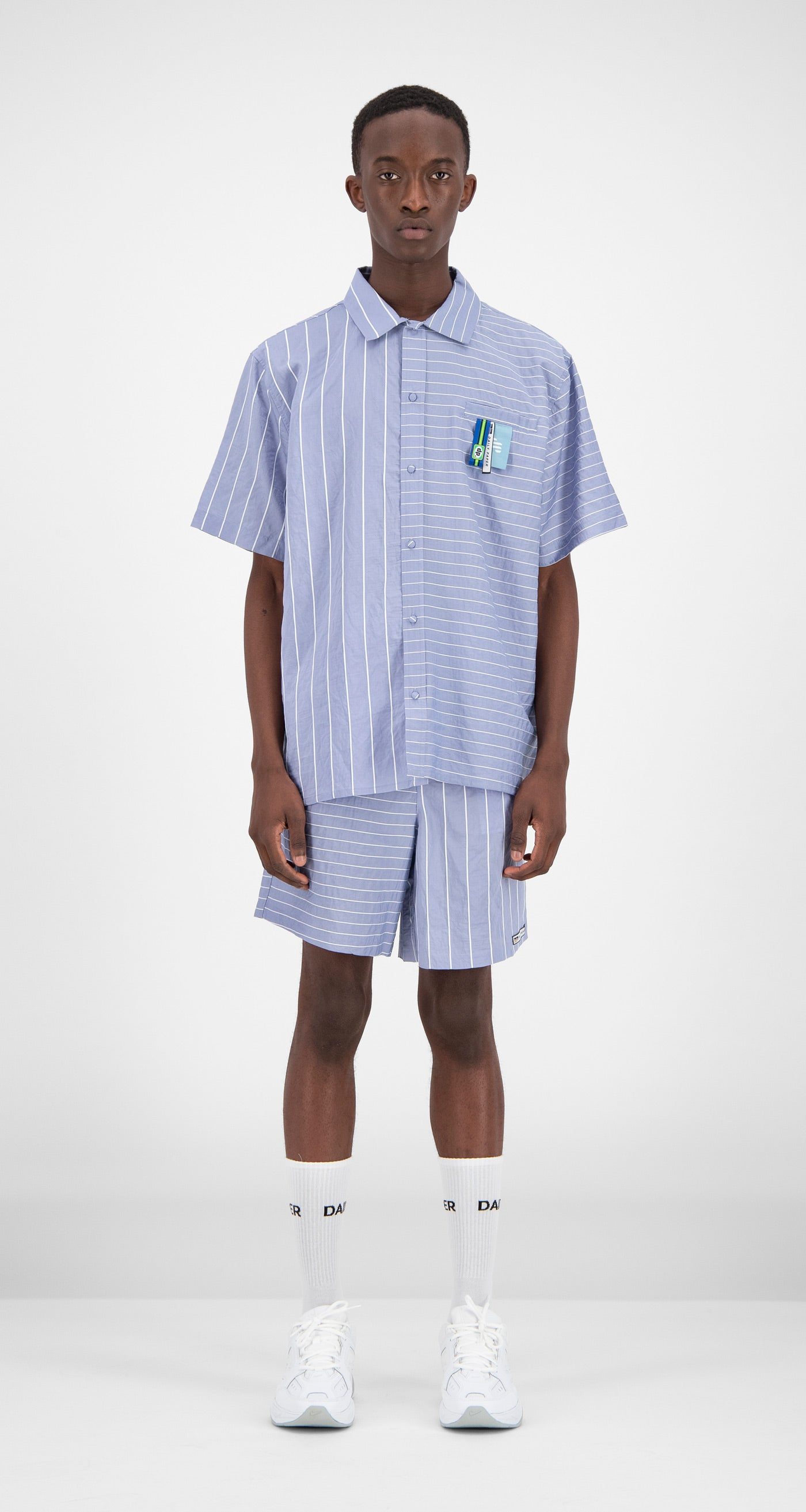 Daily Paper - Striped Forang Shirt Men