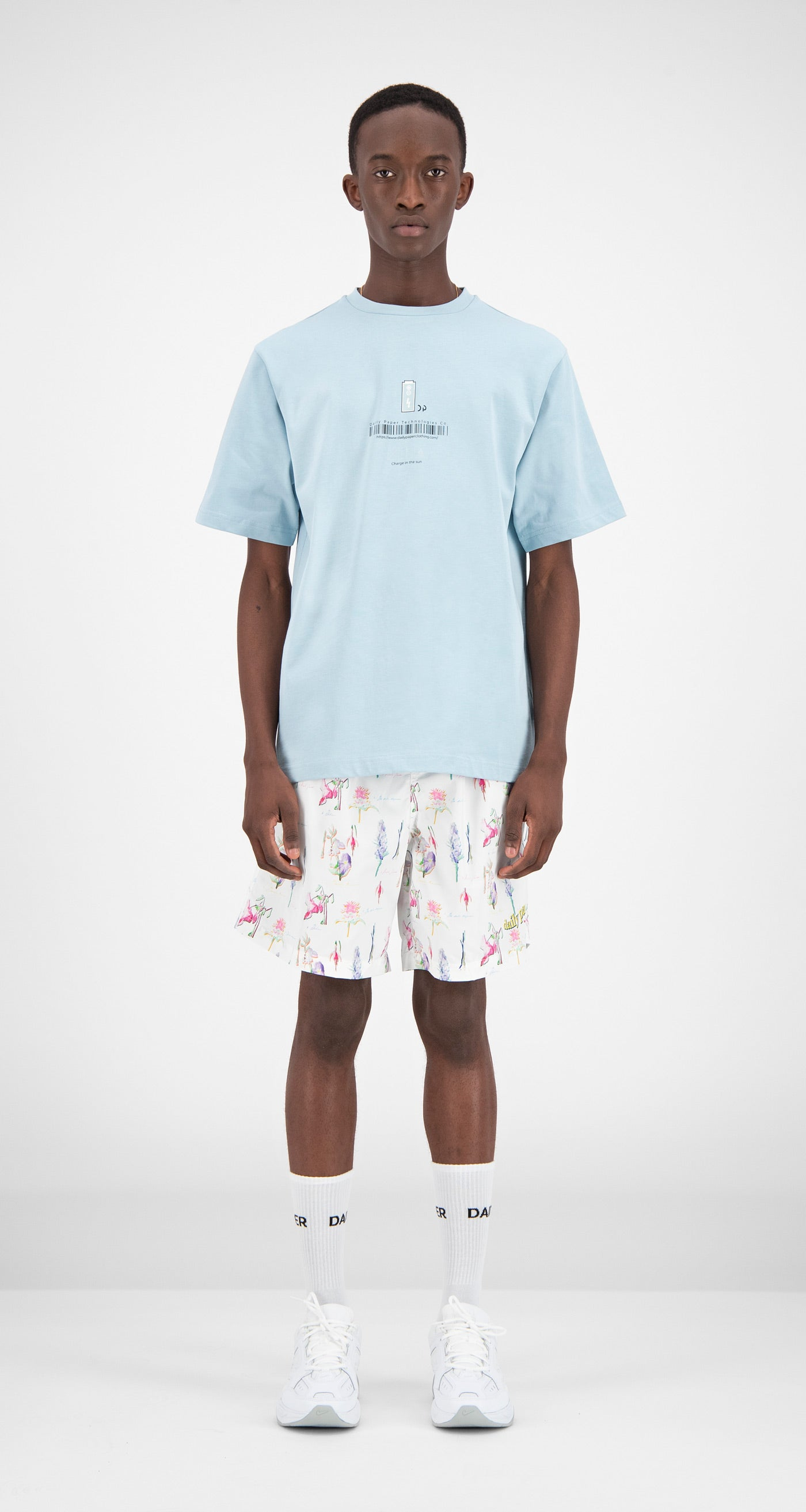 Daily Paper - Printed Hawaii Fali Swimshorts Men