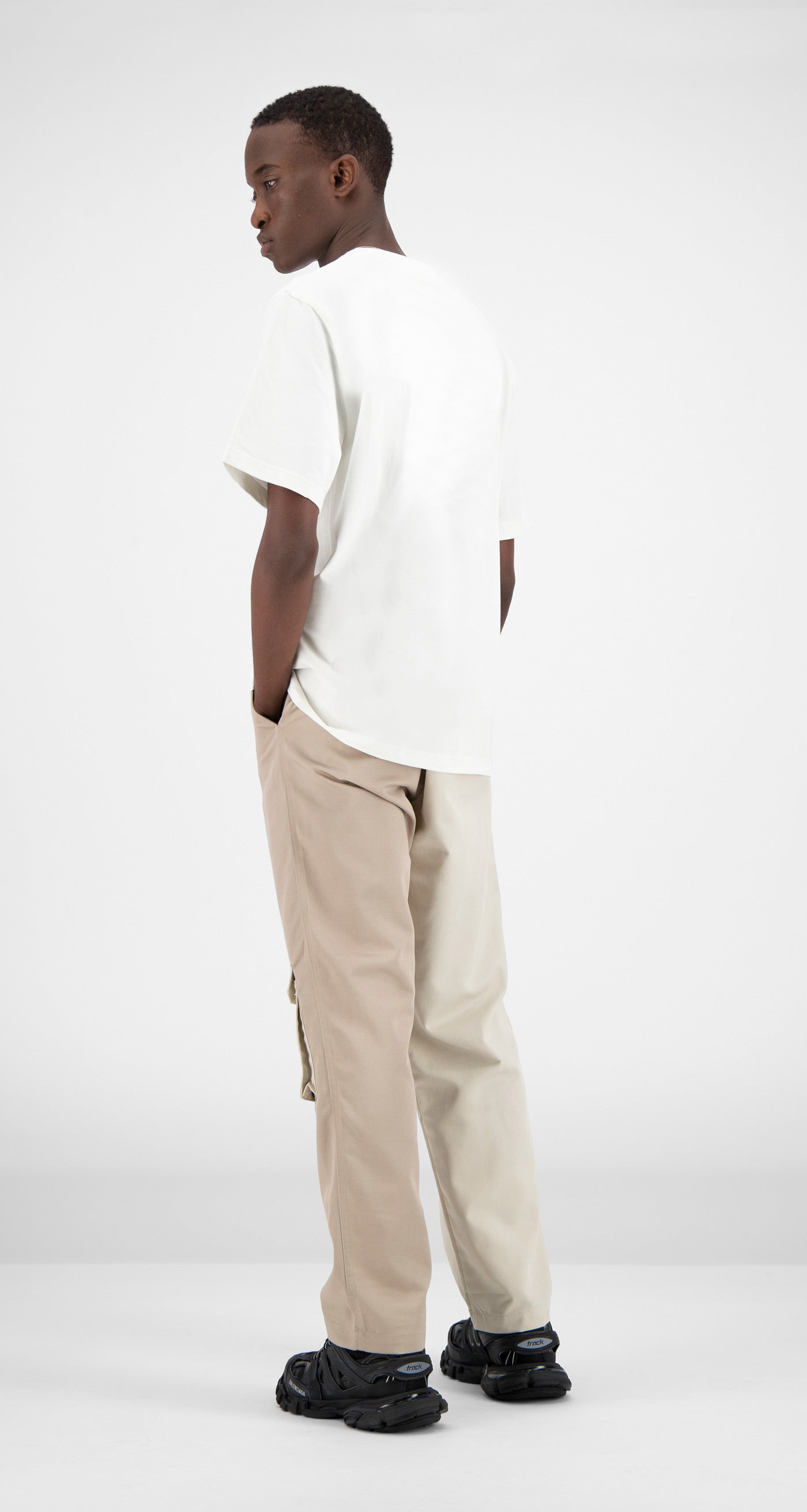 Daily Paper - White Farr T-Shirt Men Rear