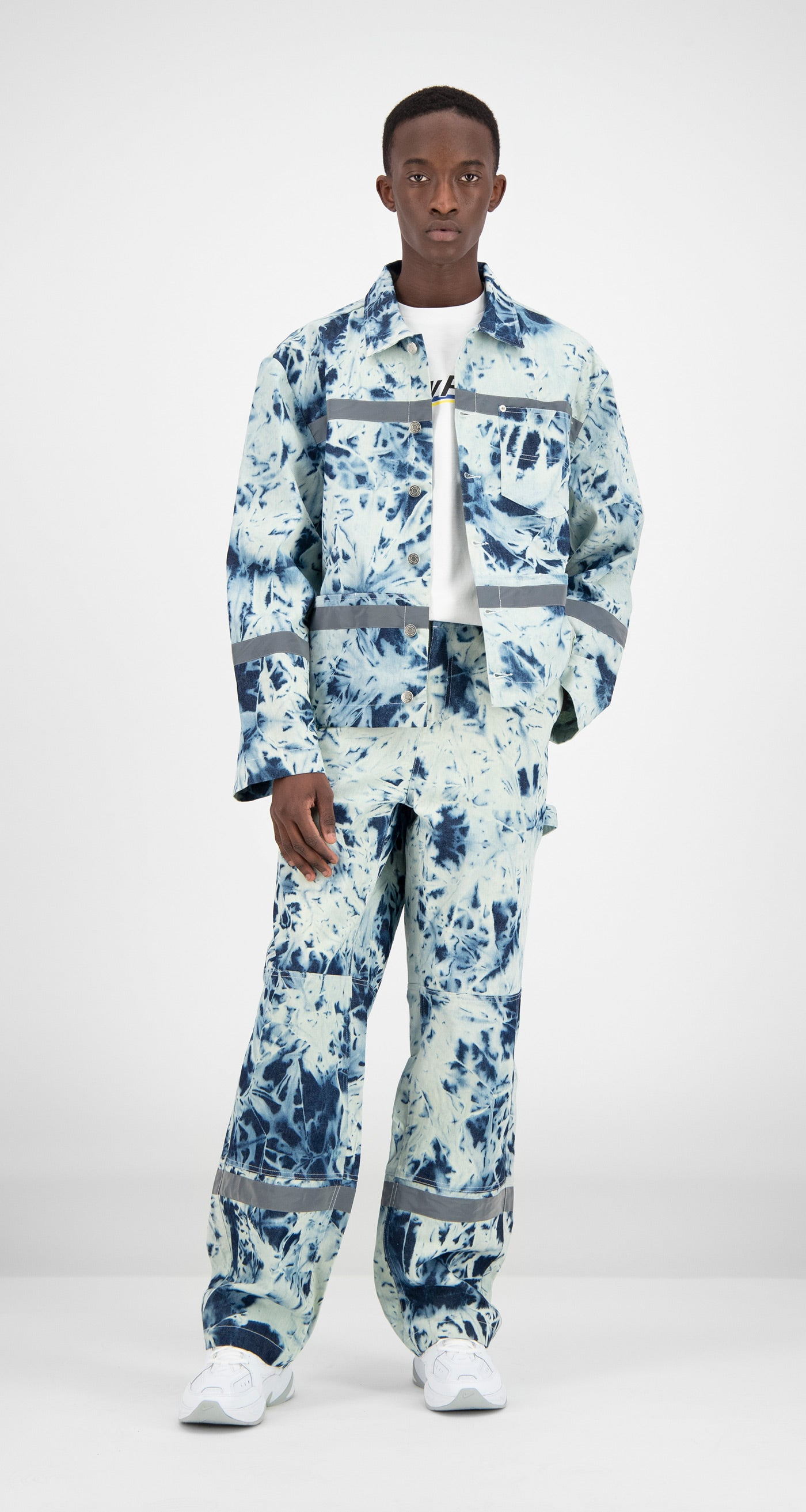 Daily Paper - Navy Printed Fafi Jacket Men