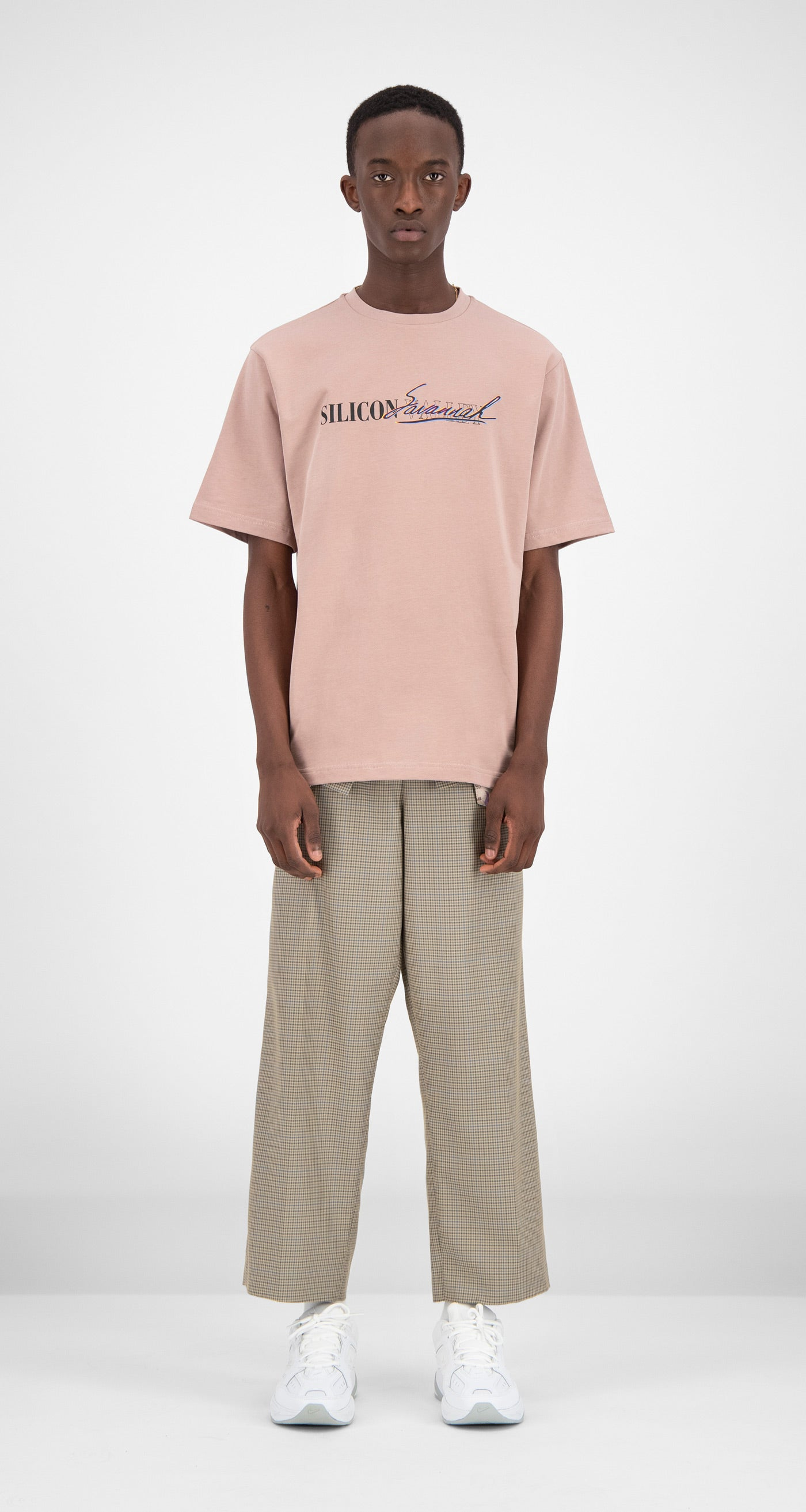 Daily Paper - Old Pink Faeri T-Shirt Men Front