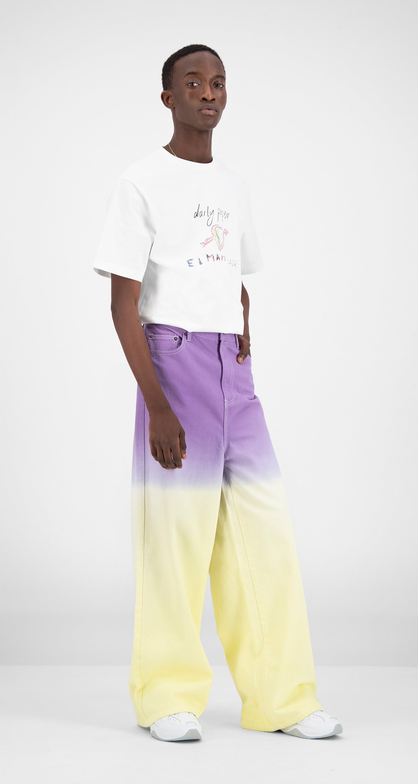Daily Paper - Gradient Color Block Fidip Pants Men