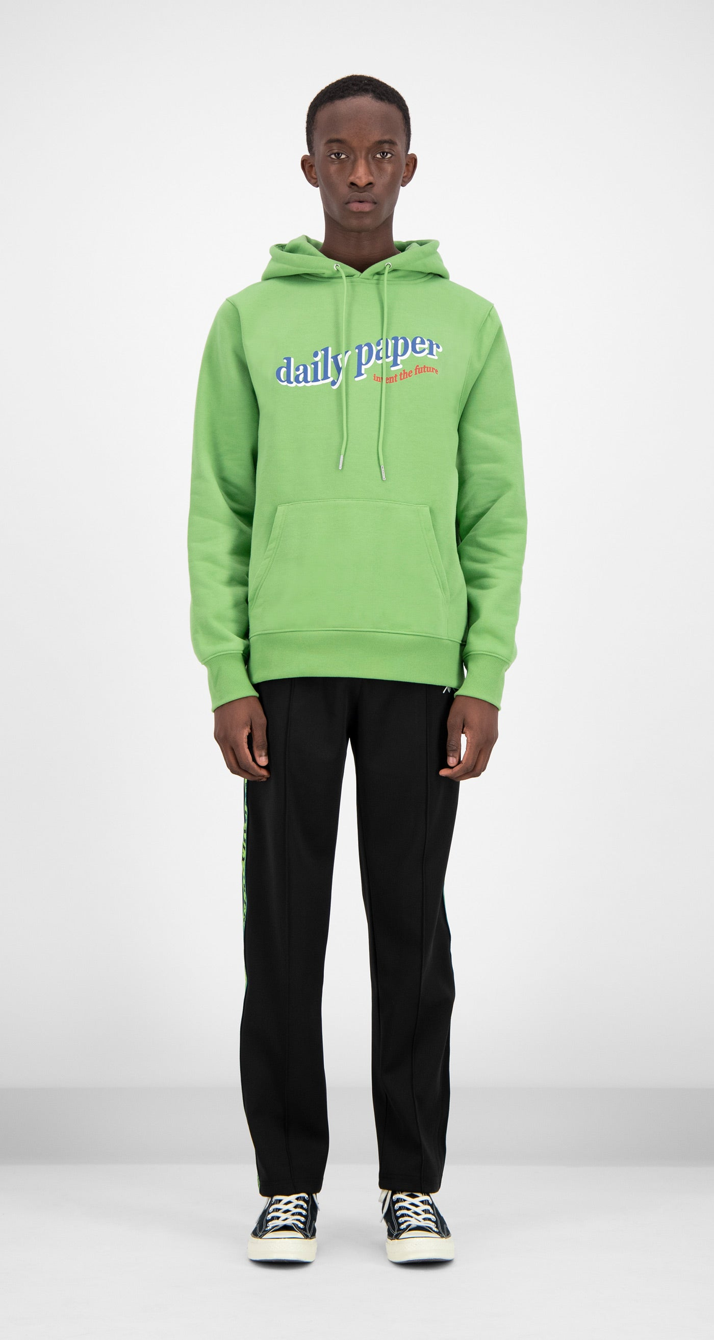Daily Paper - Green Ferron Hoody Men Front