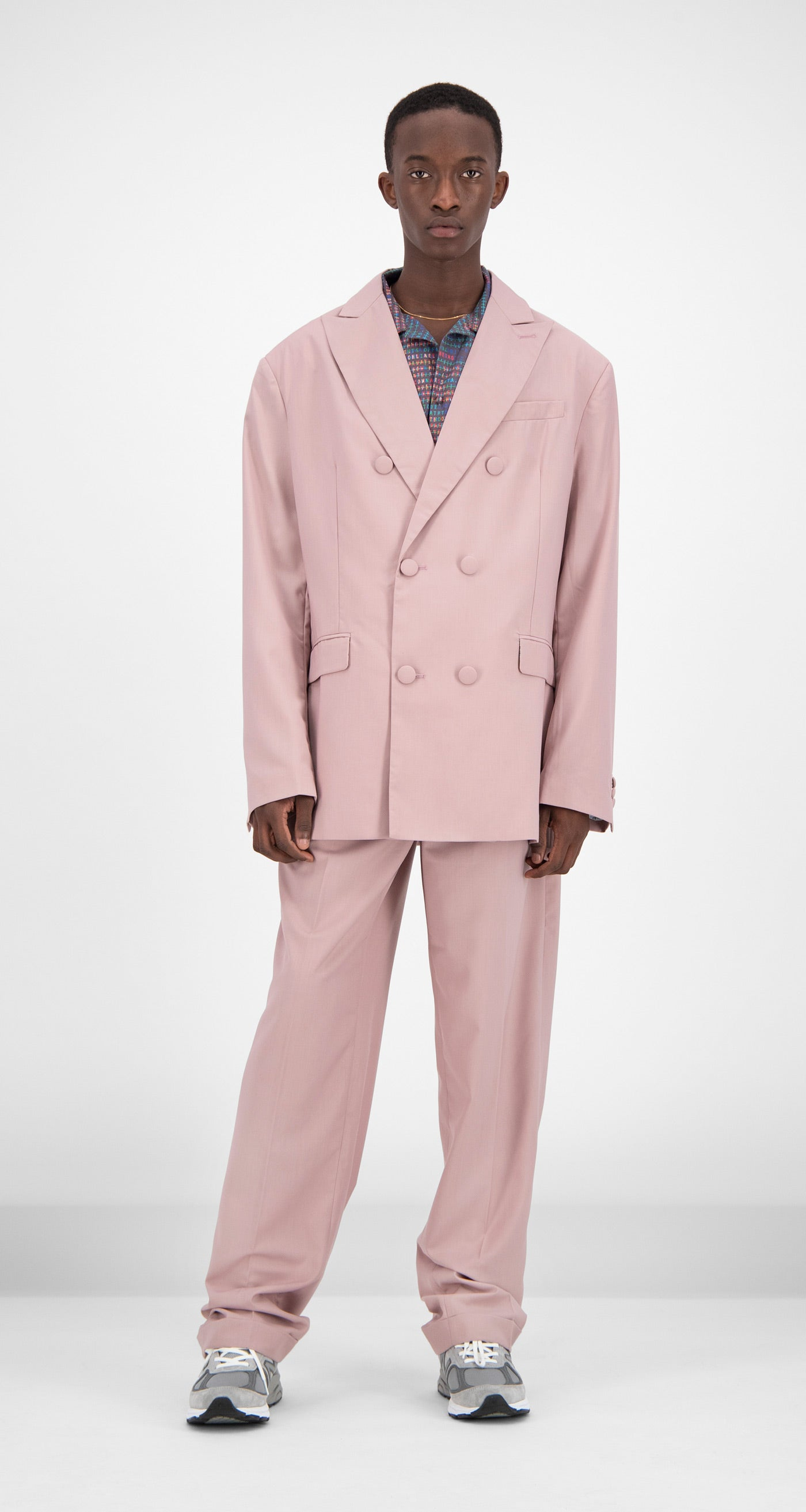 Daily Paper - Old Pink Oversized Fecker Blazer Men