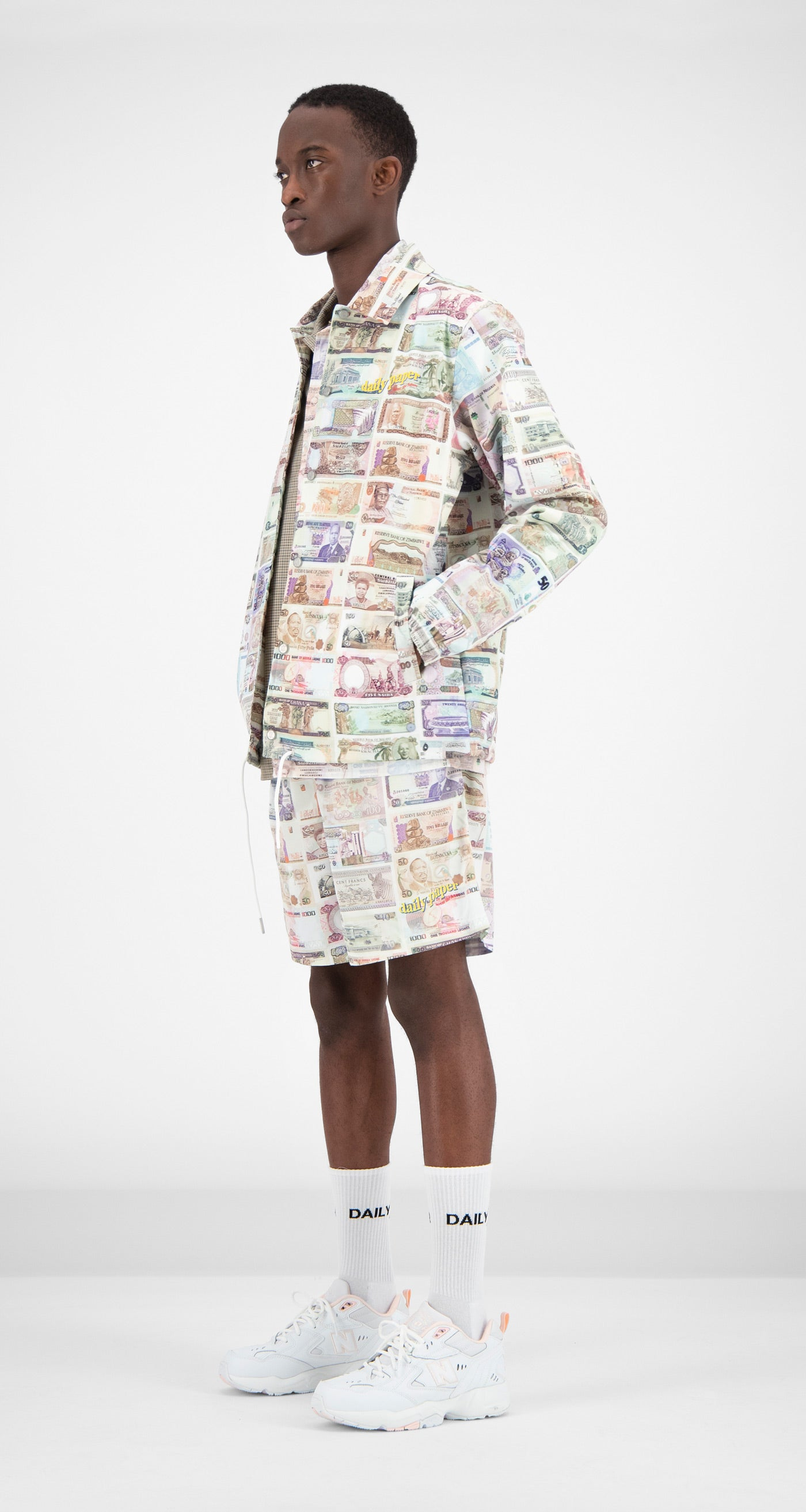 Daily Paper - Printed Money Foach Jacket Men