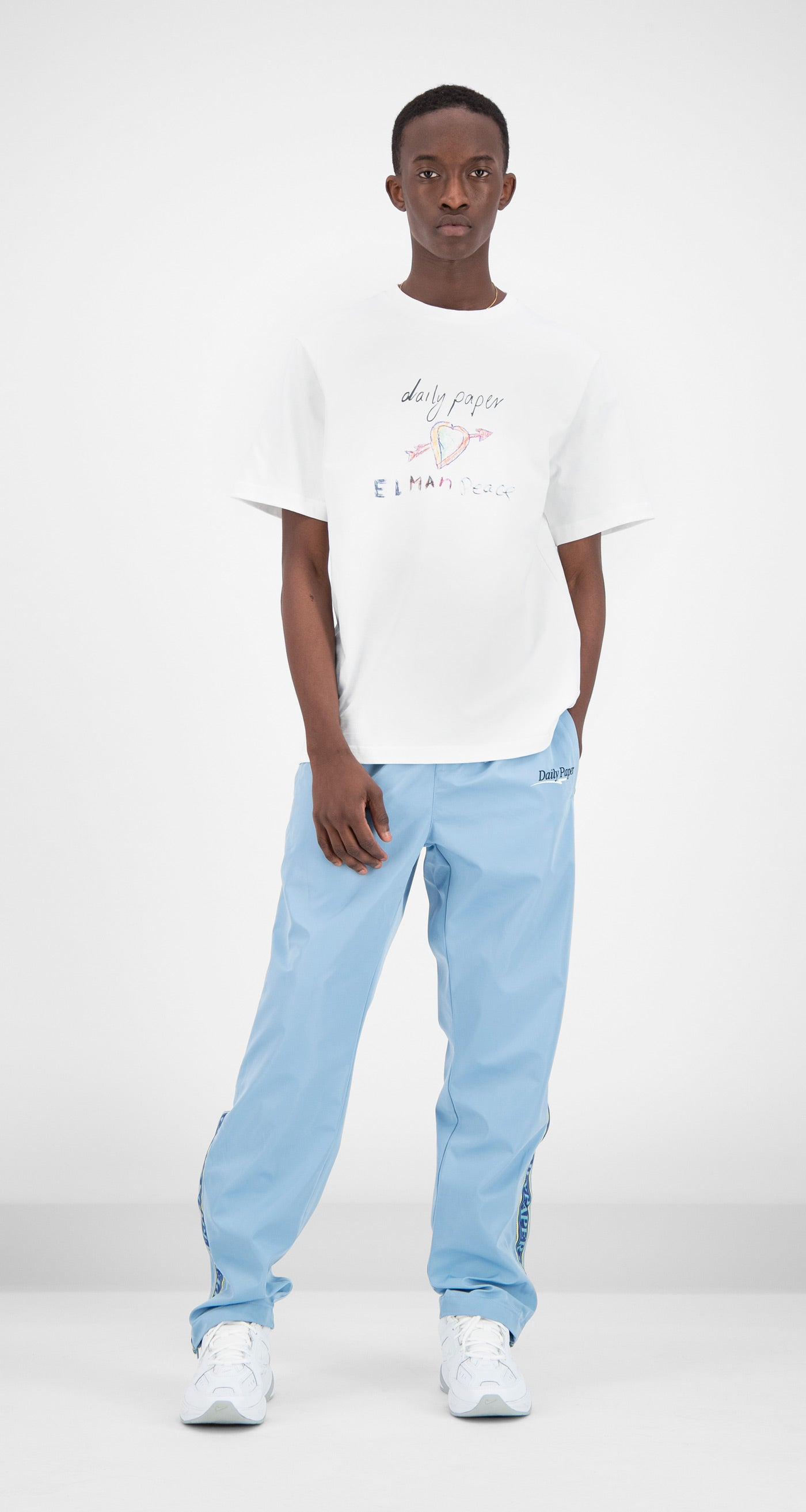 Daily Paper - Blue Fezip Pants Men