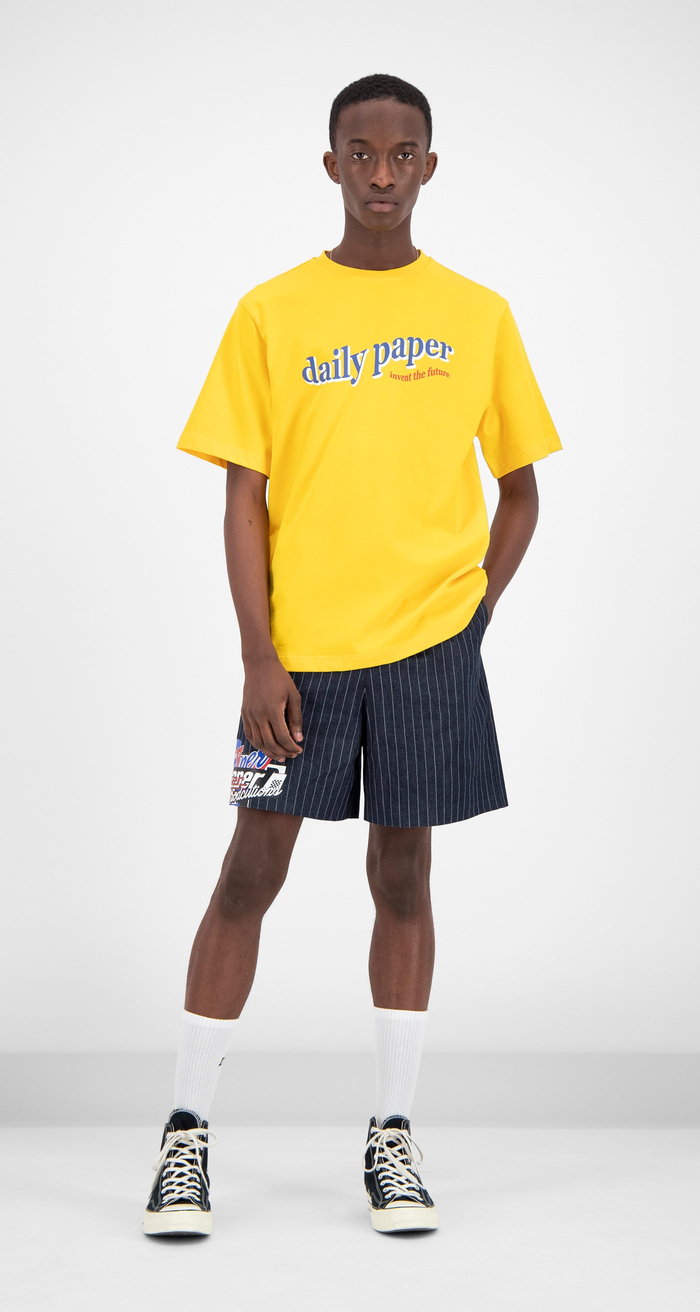 Daily Paper - Yellow Fellen T-Shirt Men