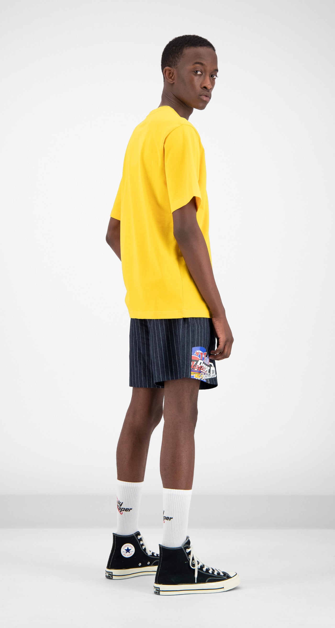 Daily Paper - Yellow Fellen T-Shirt Men Rear