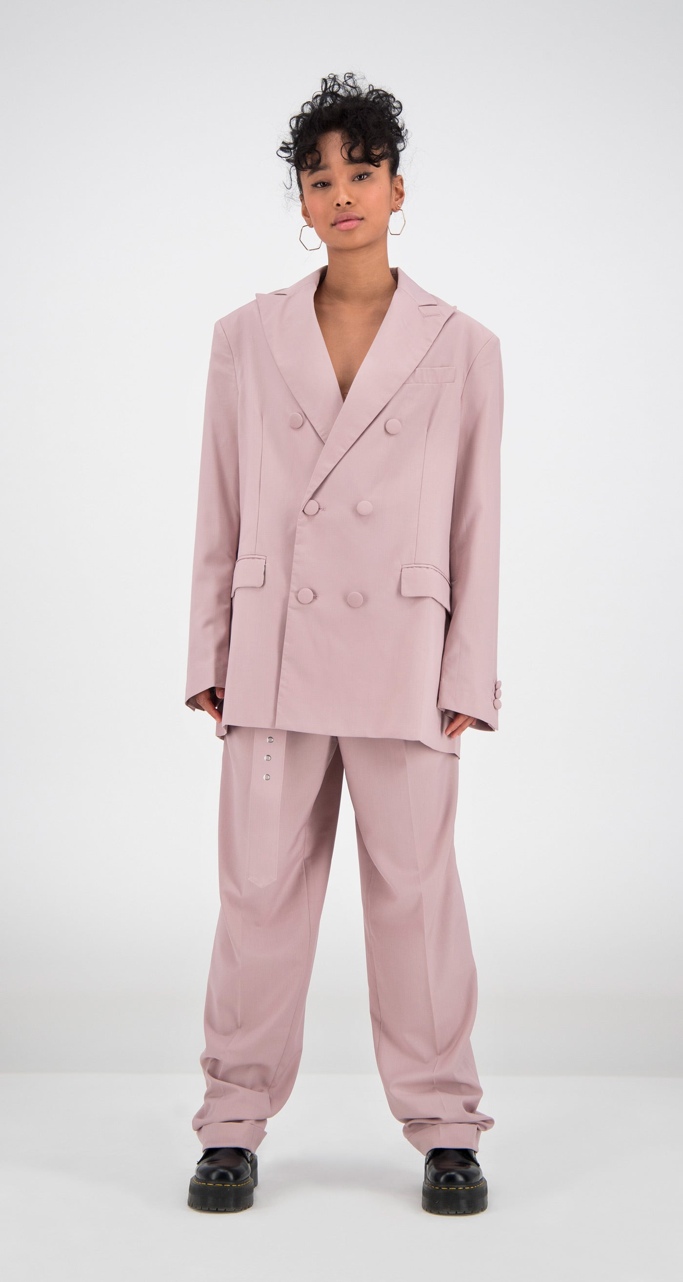 Daily Paper - Old Pink Oversized Fecker Blazer Women