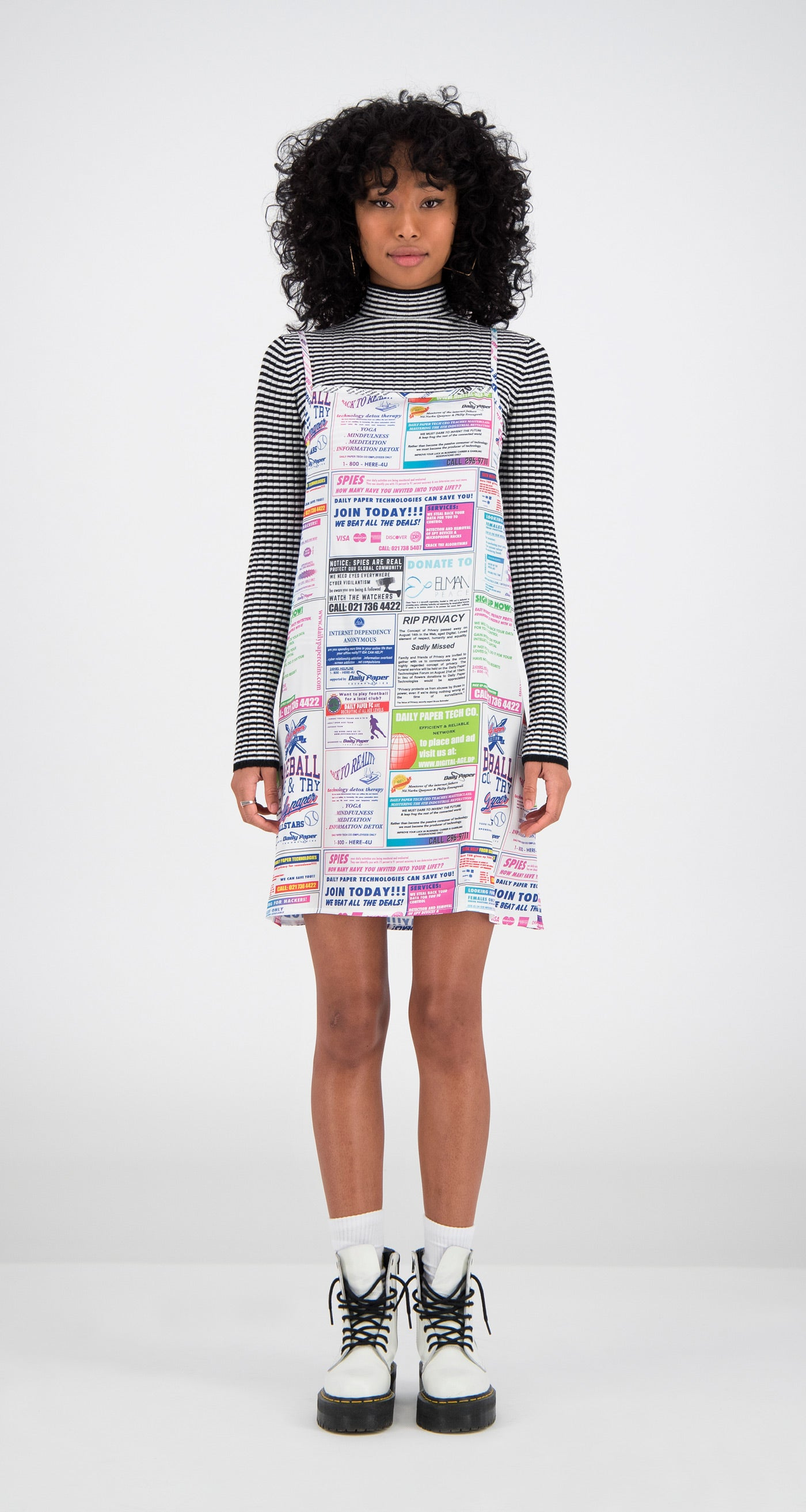 Daily Paper - Printed Faia Dress Women Front