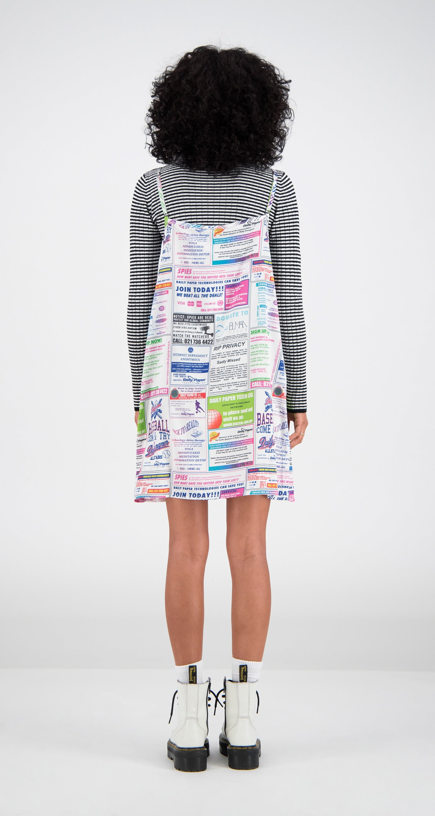 Daily Paper - Printed Faia Dress Women Rear