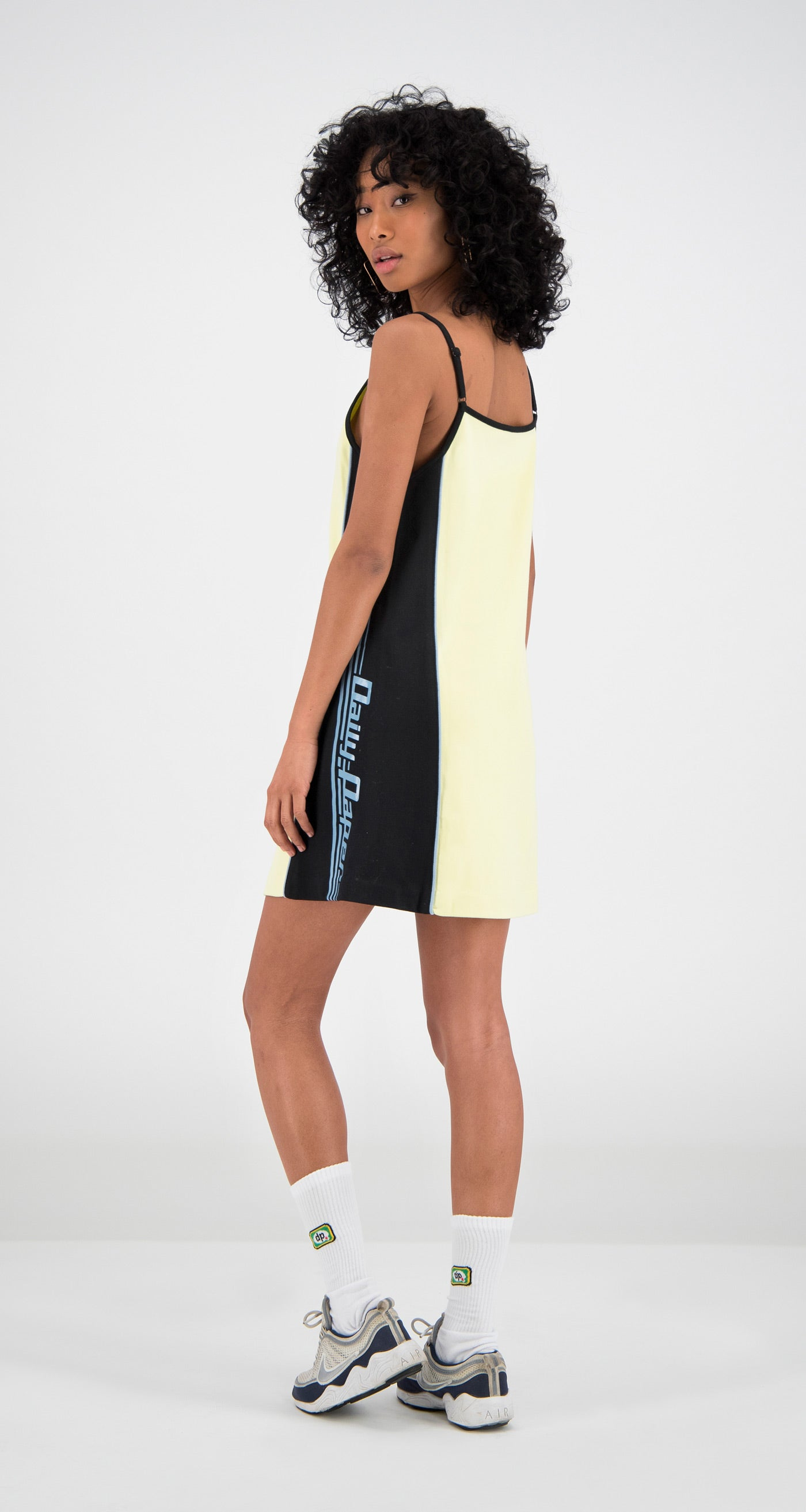 Daily Paper - Yellow Felicia Dress Women Rear