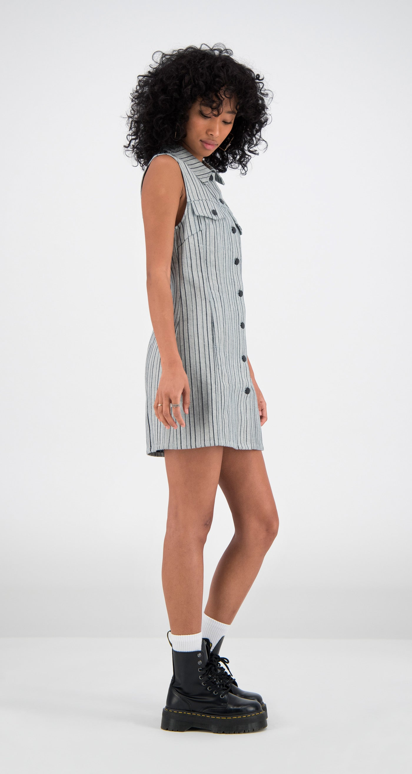 Daily Paper - Grey Denim Fae Dress Women