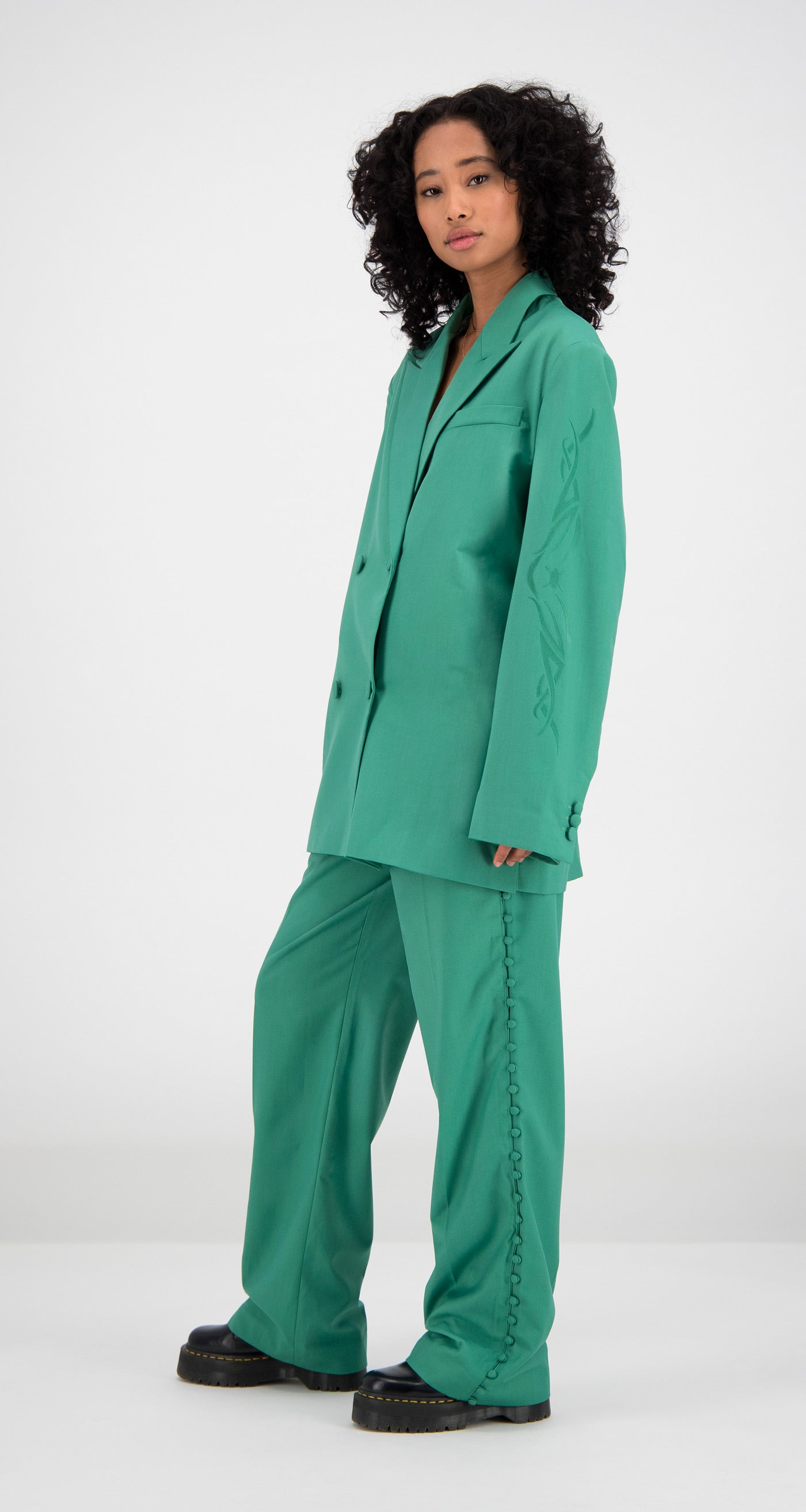 Daily Paper - Green Fern Blazer Women