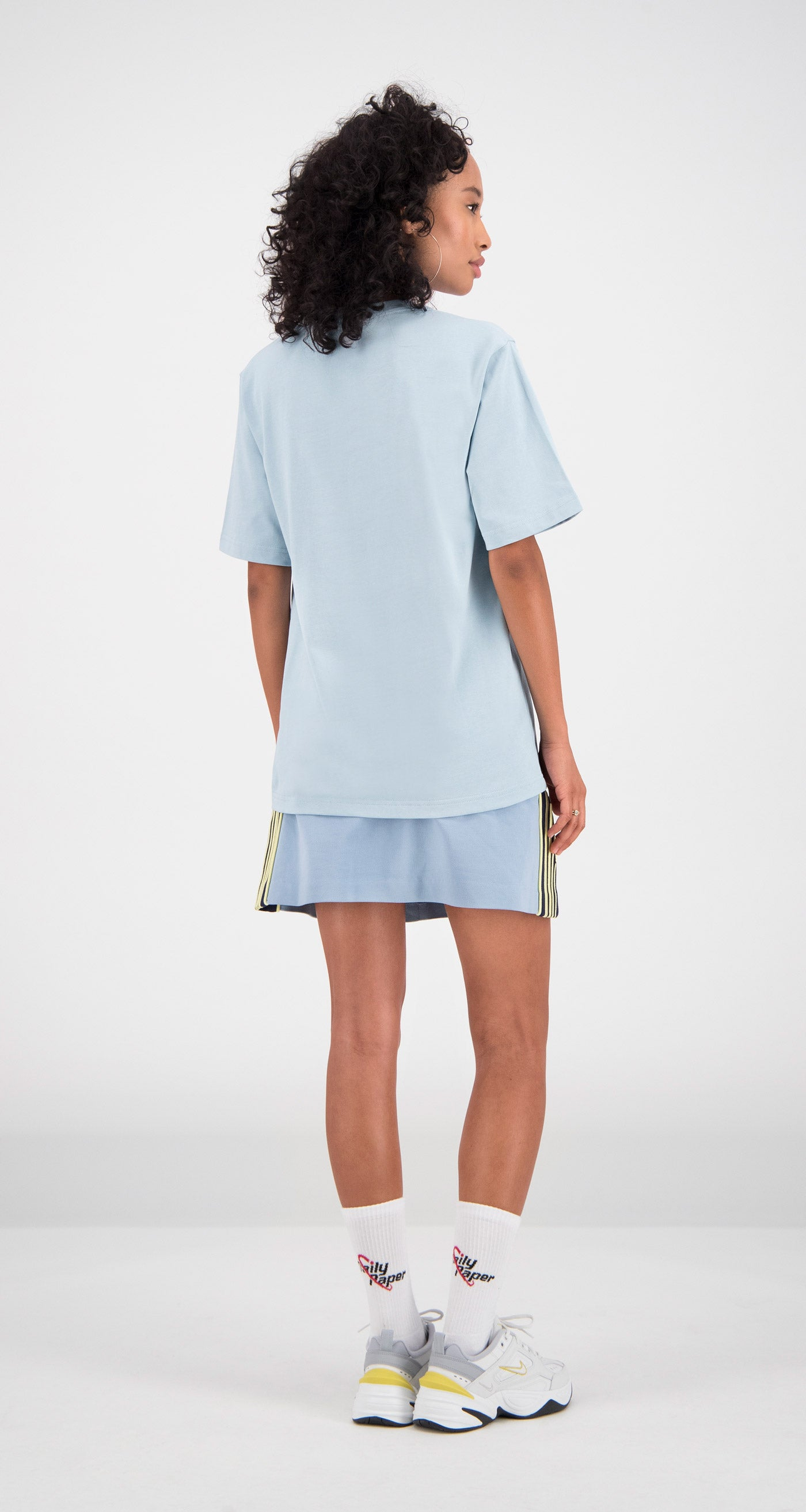 Daily Paper - Light Blue Fitot T-Shirt Women Rear
