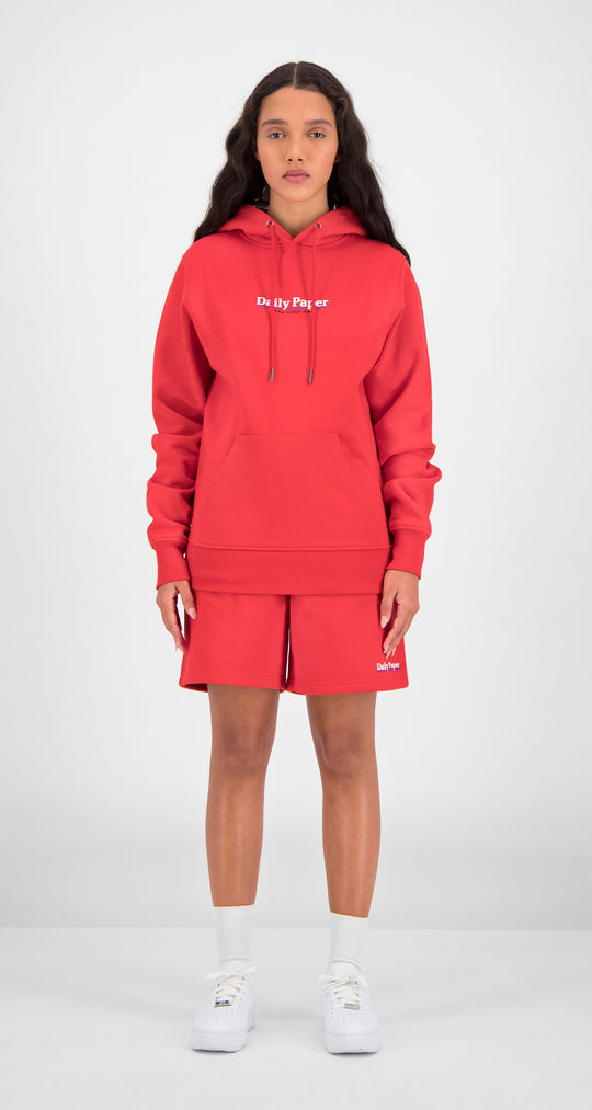 Daily Paper - Red Essential Hoody Women Front