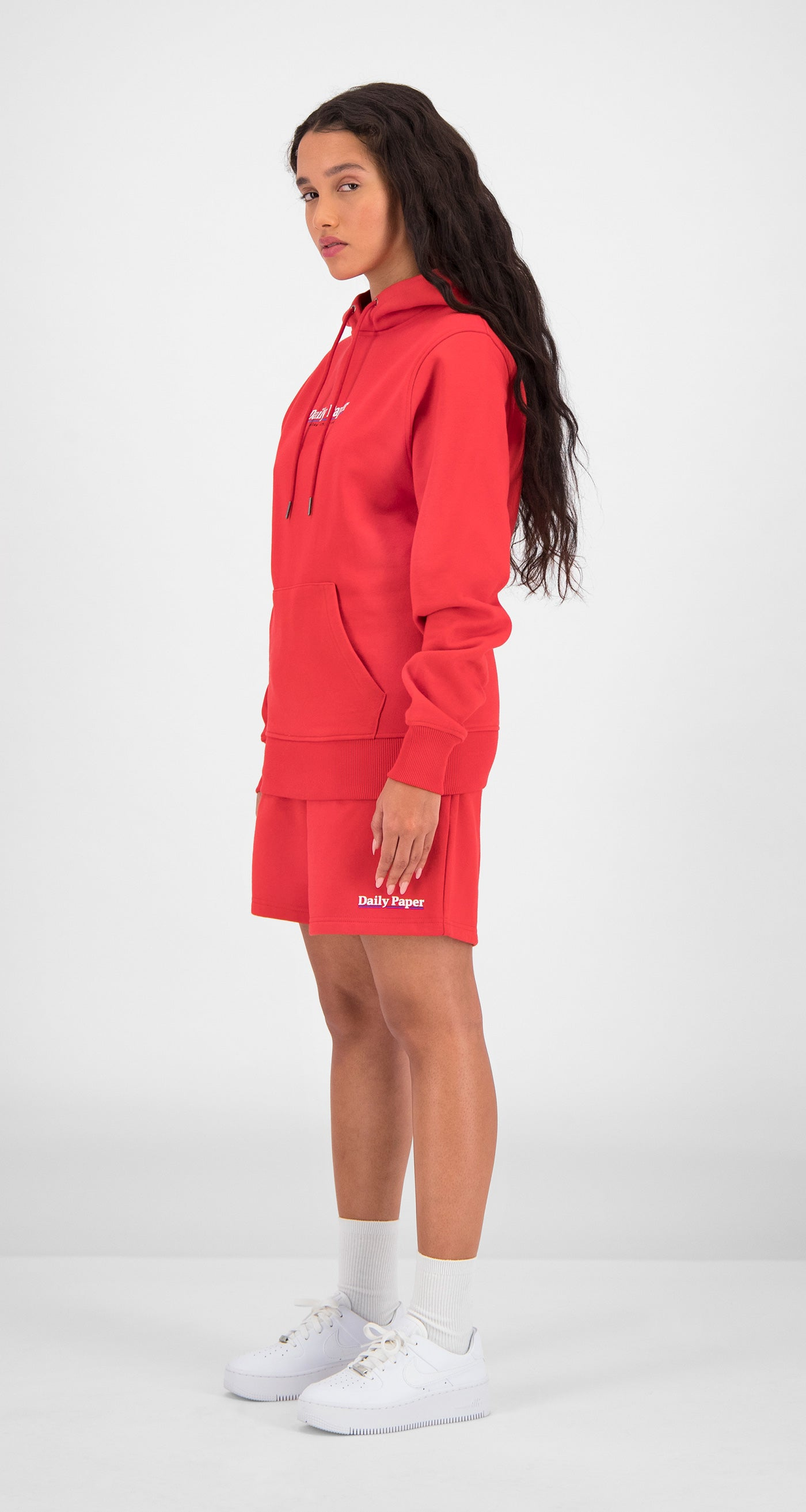 Daily Paper - Red Essential Hoody Women